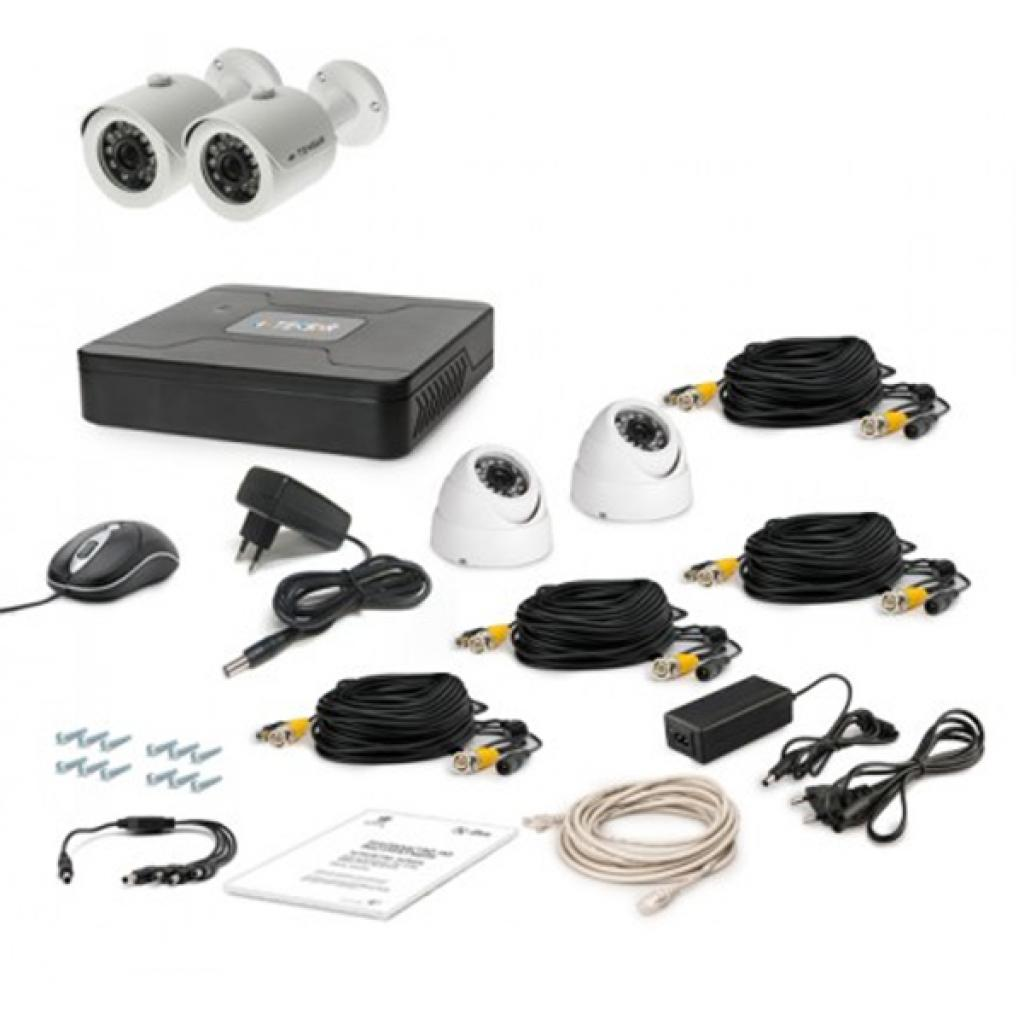 Комплект видеонаблюдения Tecsar AHD 4OUT-MIX (6363)