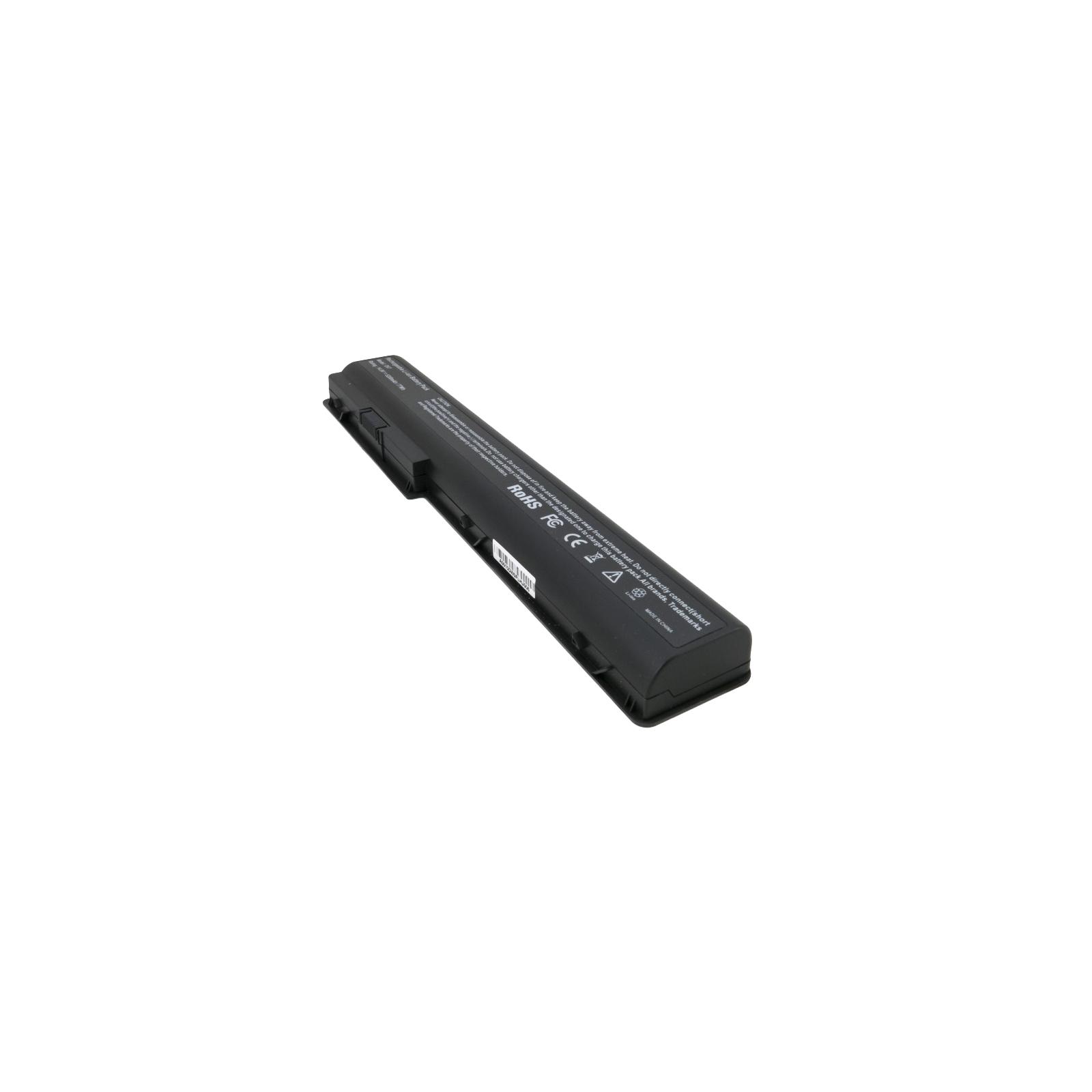 Аккумулятор для ноутбука HP Pavilion DV7 (HSTNN-XB75) 5200 mAh EXTRADIGITAL (BNH3947) изображение 5