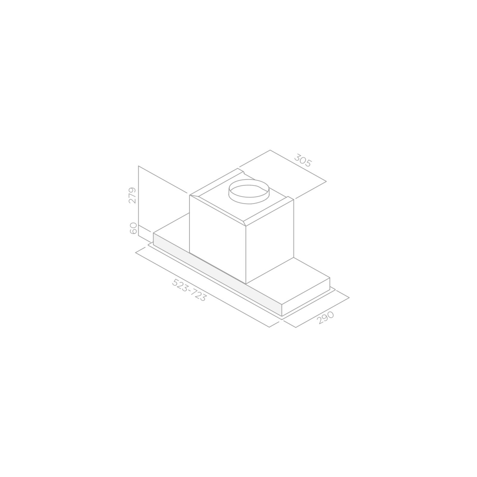 Вытяжка кухонная Elica HIDDEN IXGL/A/60 изображение 3