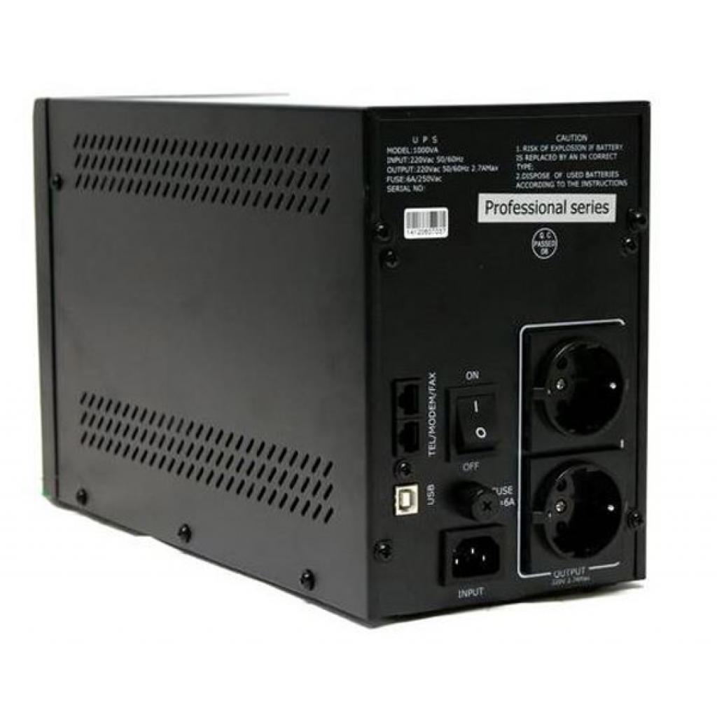 Источник бесперебойного питания PrologiX Professional 1000 LB USB (Professional 1000 LB) изображение 2