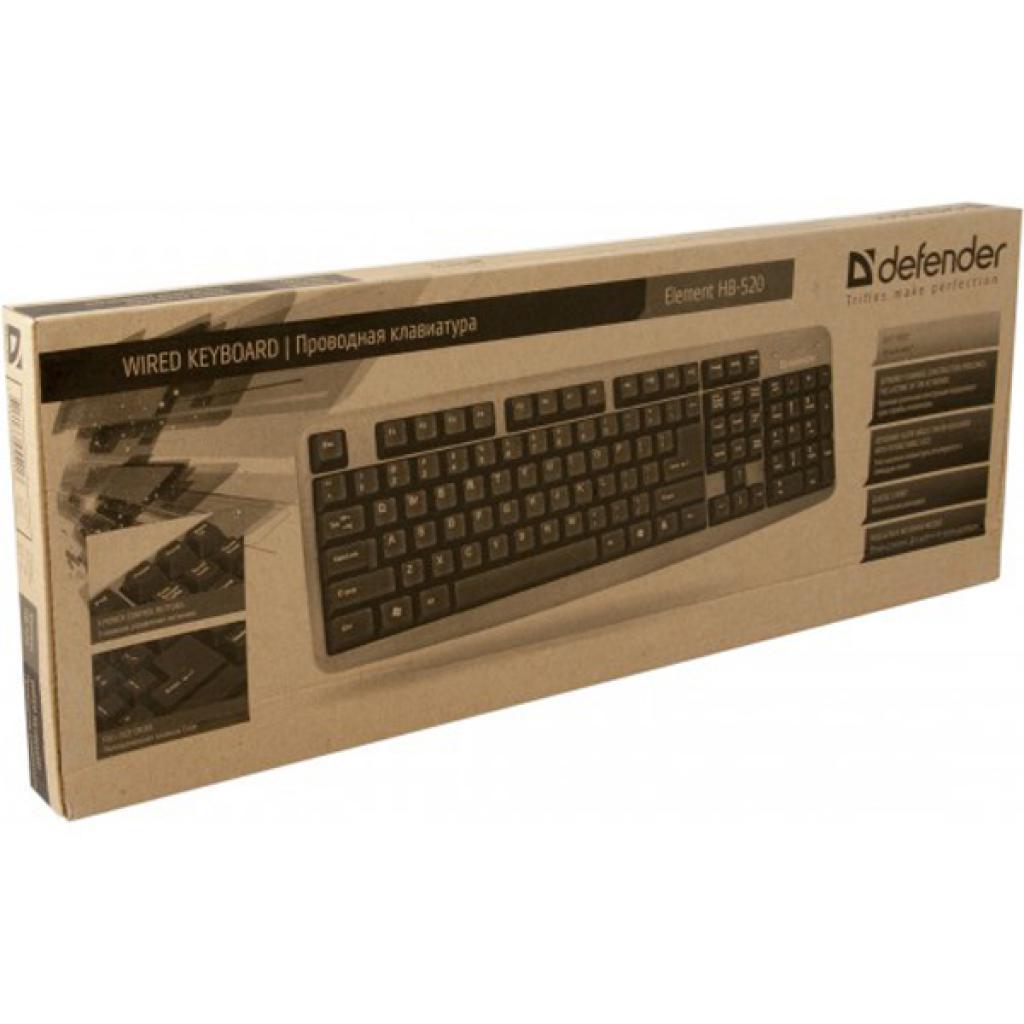Клавиатура Defender Element HB-520 Grey (45523) изображение 3