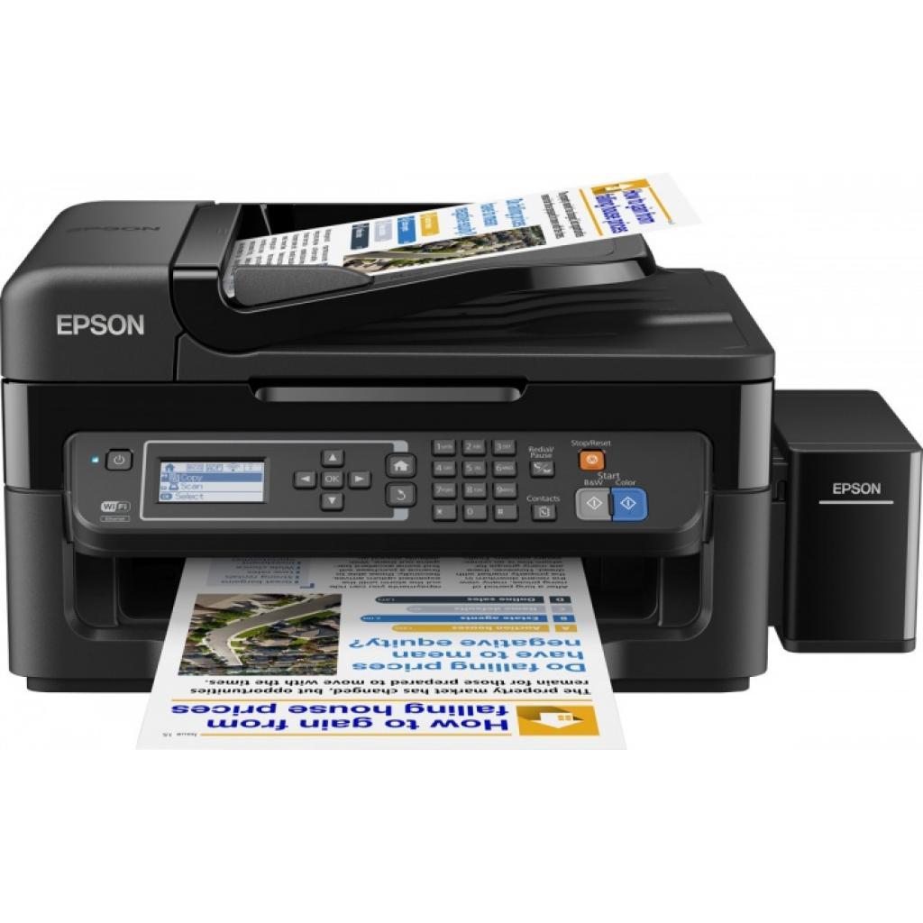 Многофункциональное устройство EPSON L566 c WiFi (C11CE53403) изображение 2