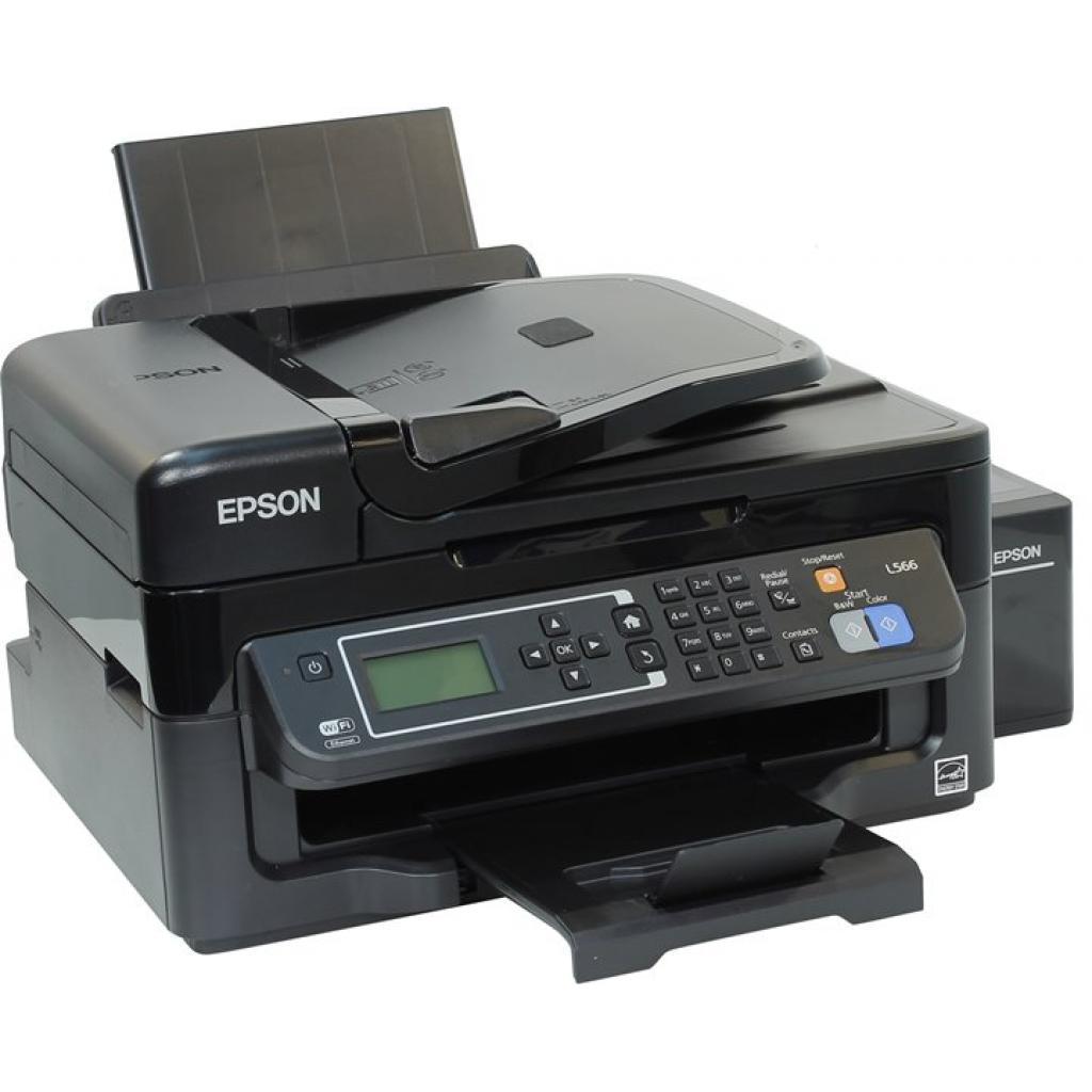 Многофункциональное устройство EPSON L566 c WiFi (C11CE53403) изображение 3