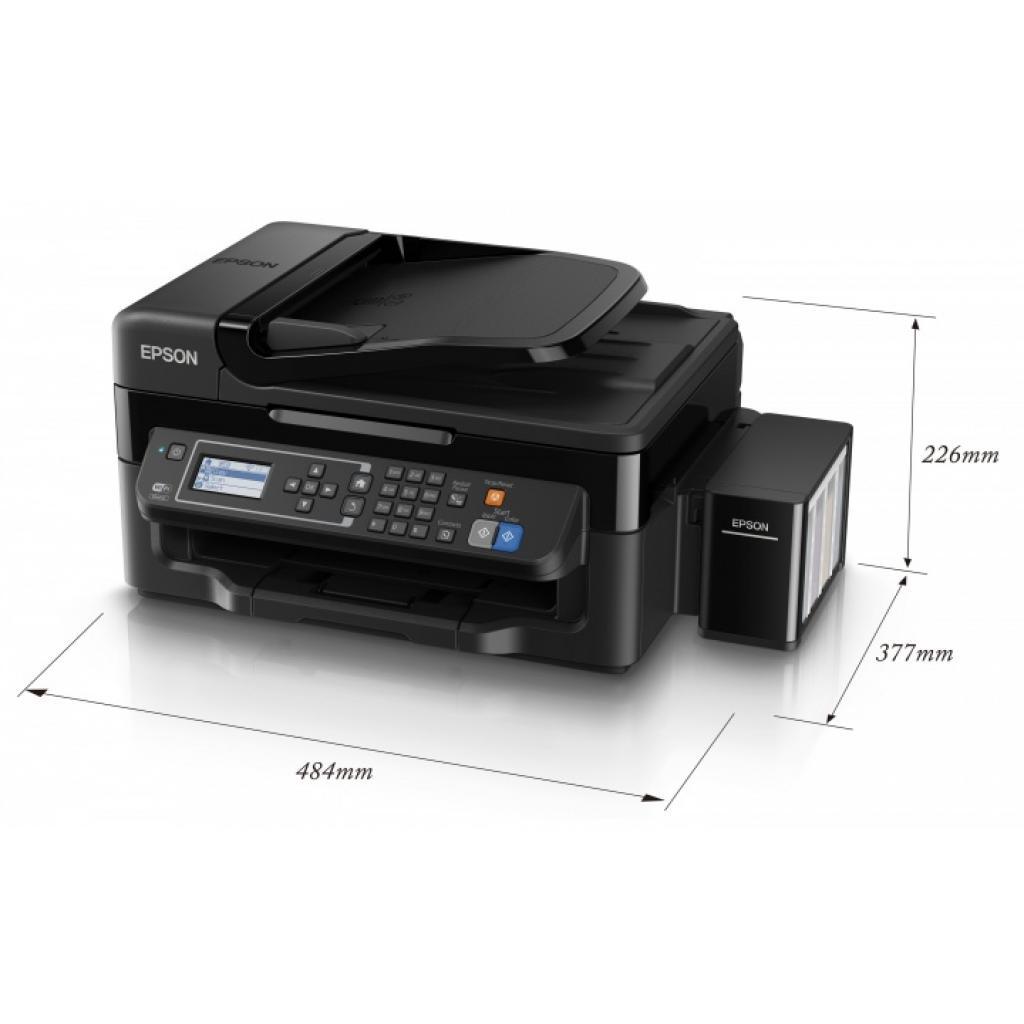 Многофункциональное устройство EPSON L566 c WiFi (C11CE53403) изображение 4