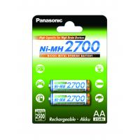 Аккумулятор PANASONIC High Capacity AA 2700 mAh * 2 (BK-3HGAE/2BE)