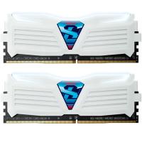 Модуль памяти для компьютера DDR4 16GB (2x8GB) 2400 MHz Super Luce White GEIL (GLWW416GB2400C16DC)