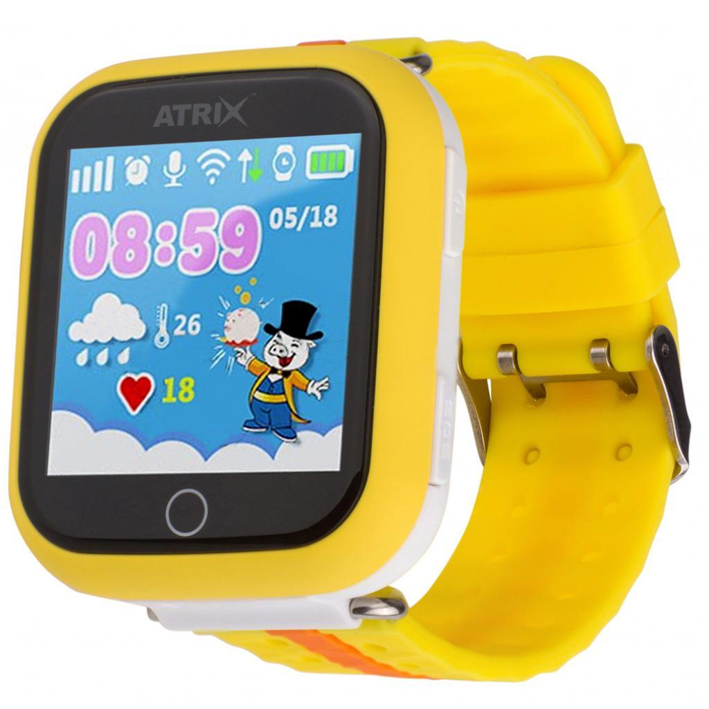 Смарт-годинник ATRIX Smart watch iQ100 Touch Orange ціни в Києві та ... 0a98c9aaf87fa