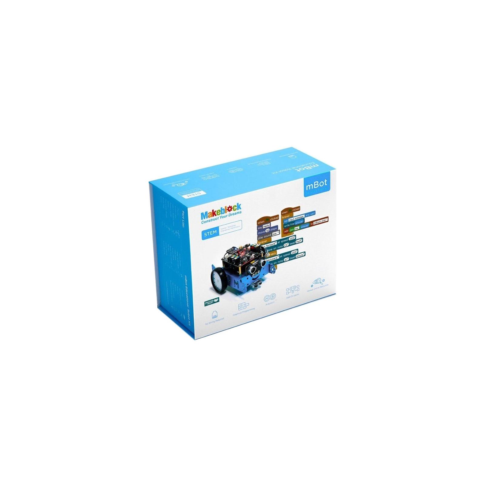 Робот Makeblock mBot v1.1 BT Blue (09.00.53) изображение 7
