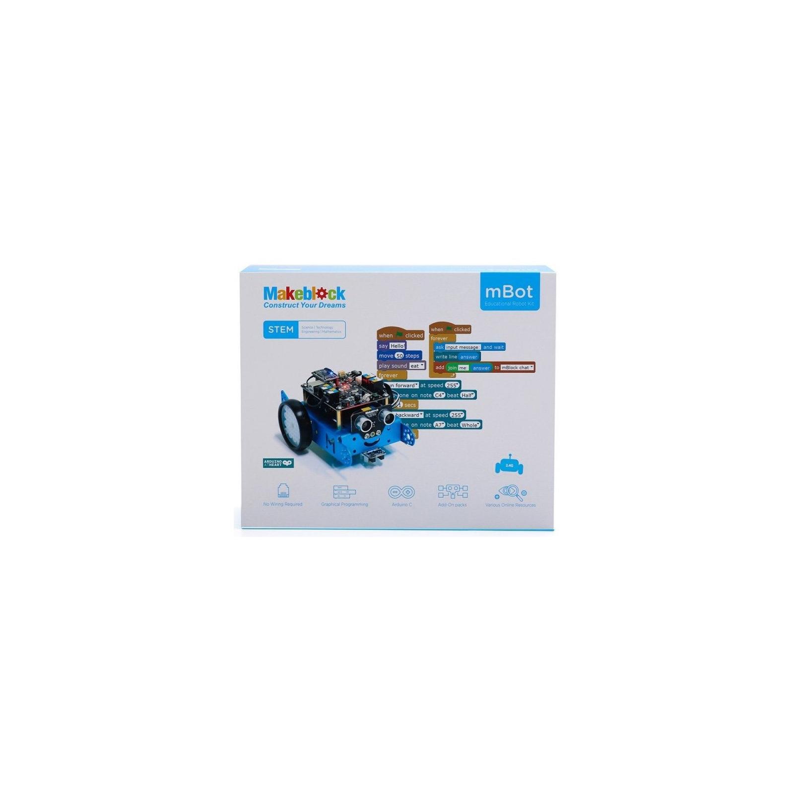 Робот Makeblock mBot v1.1 BT Blue (09.00.53) изображение 8