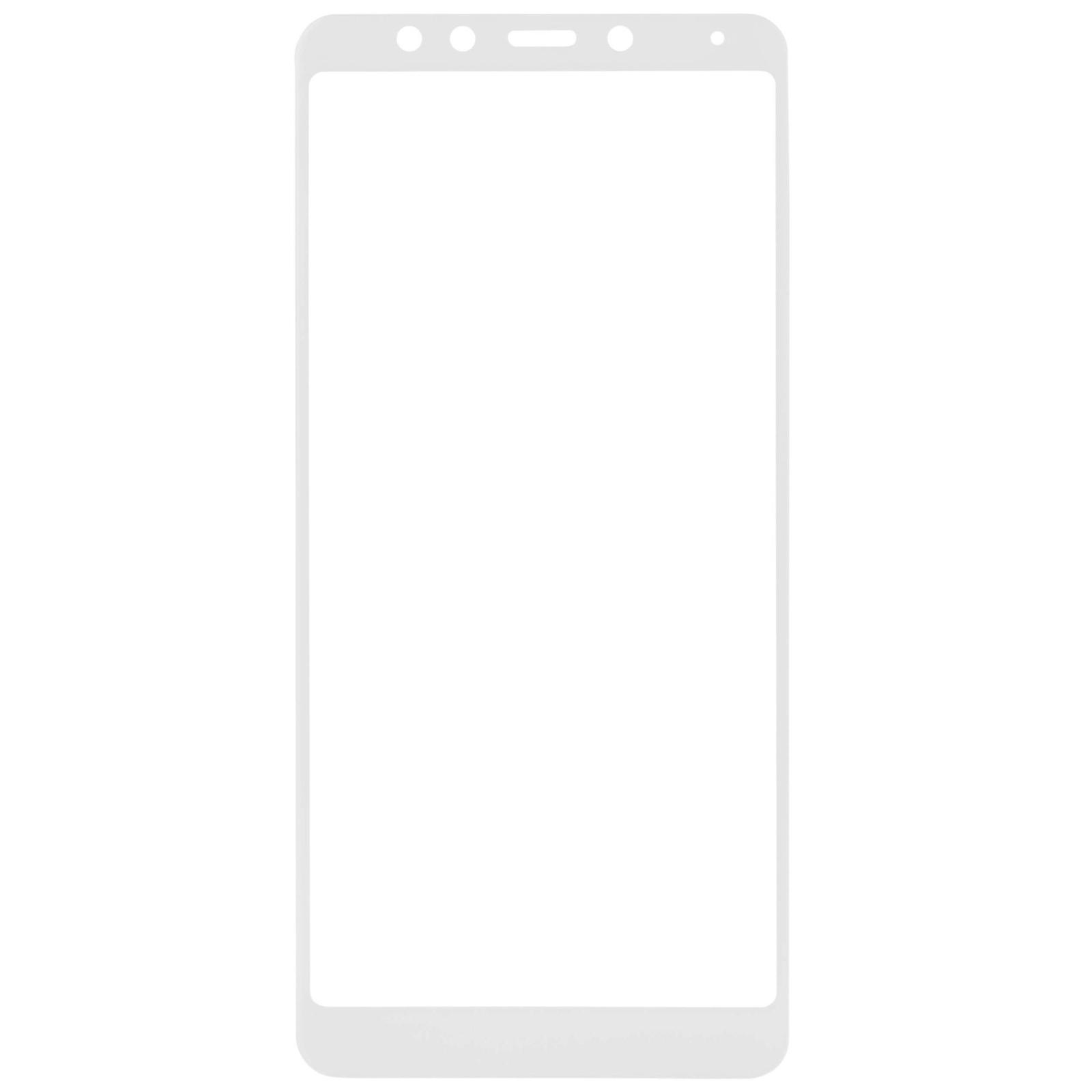 Стекло защитное MakeFuture для Xiaomi Redmi 5 Plus White Full Cover (MGFC-XR5PW) изображение 3