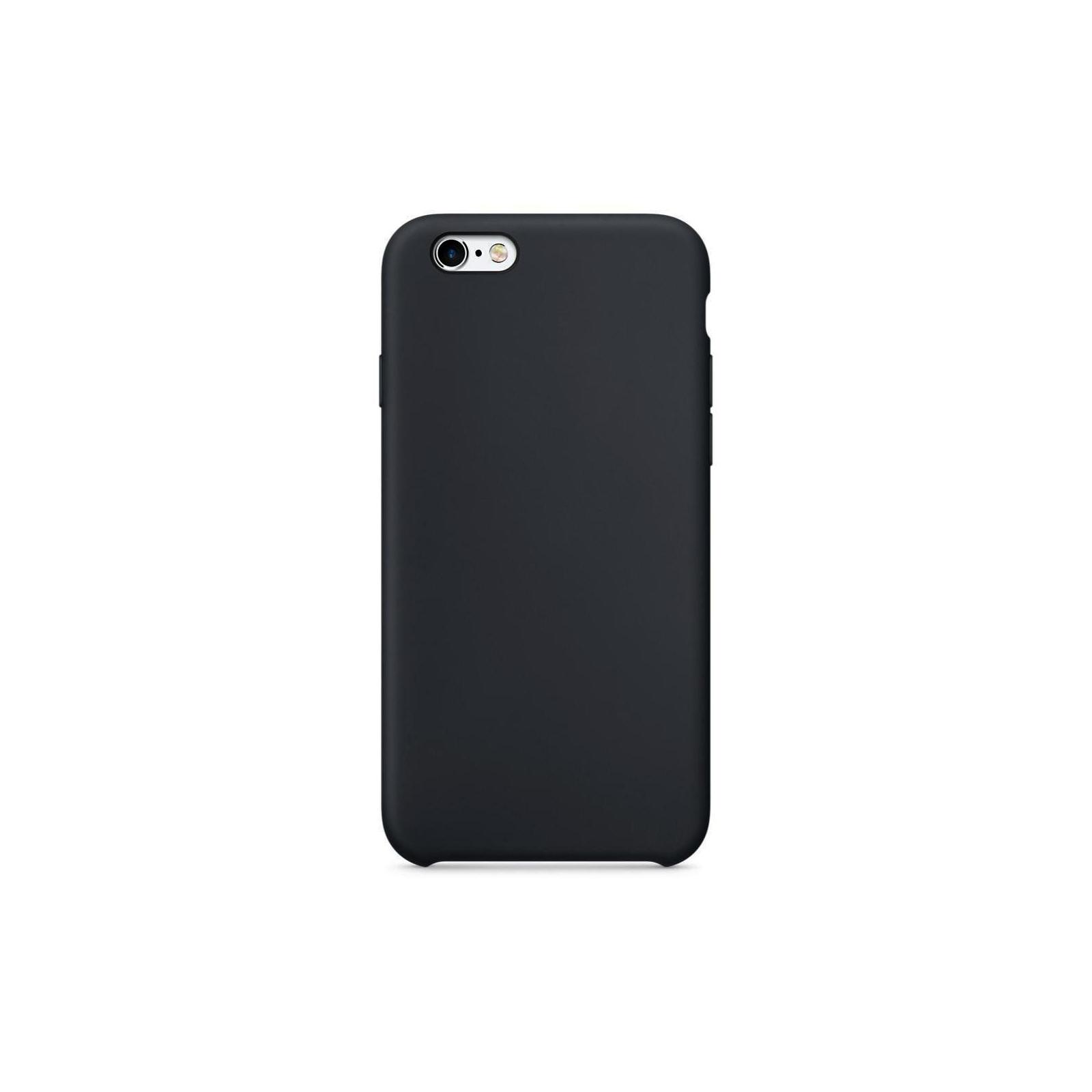 Чехол для моб. телефона Laudtec для iPhone 6/6s liquid case (black) (LT-I6LC) изображение 3