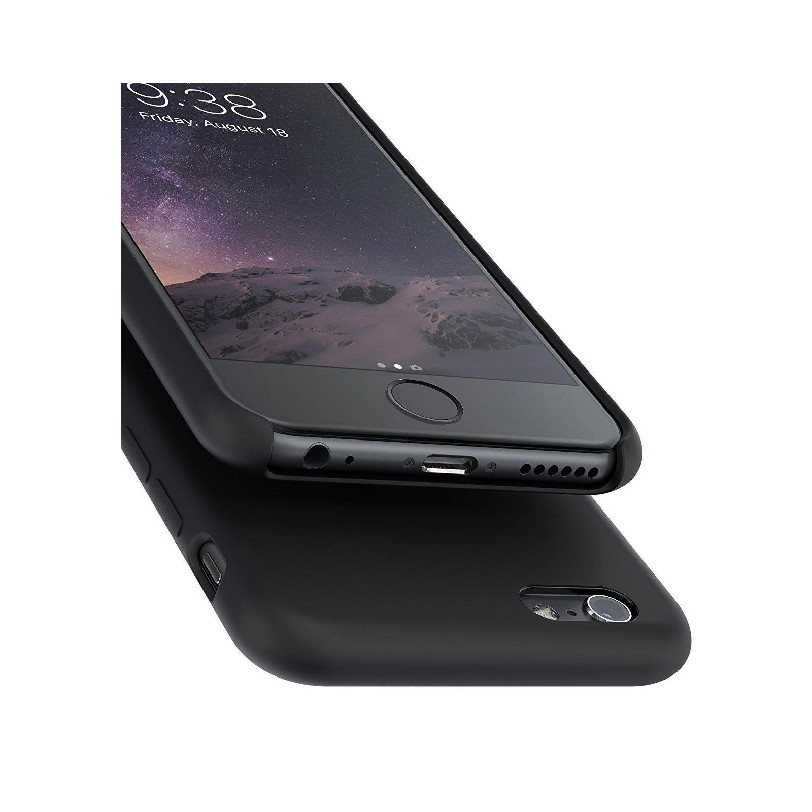 Чехол для моб. телефона Laudtec для iPhone 6/6s liquid case (black) (LT-I6LC) изображение 4
