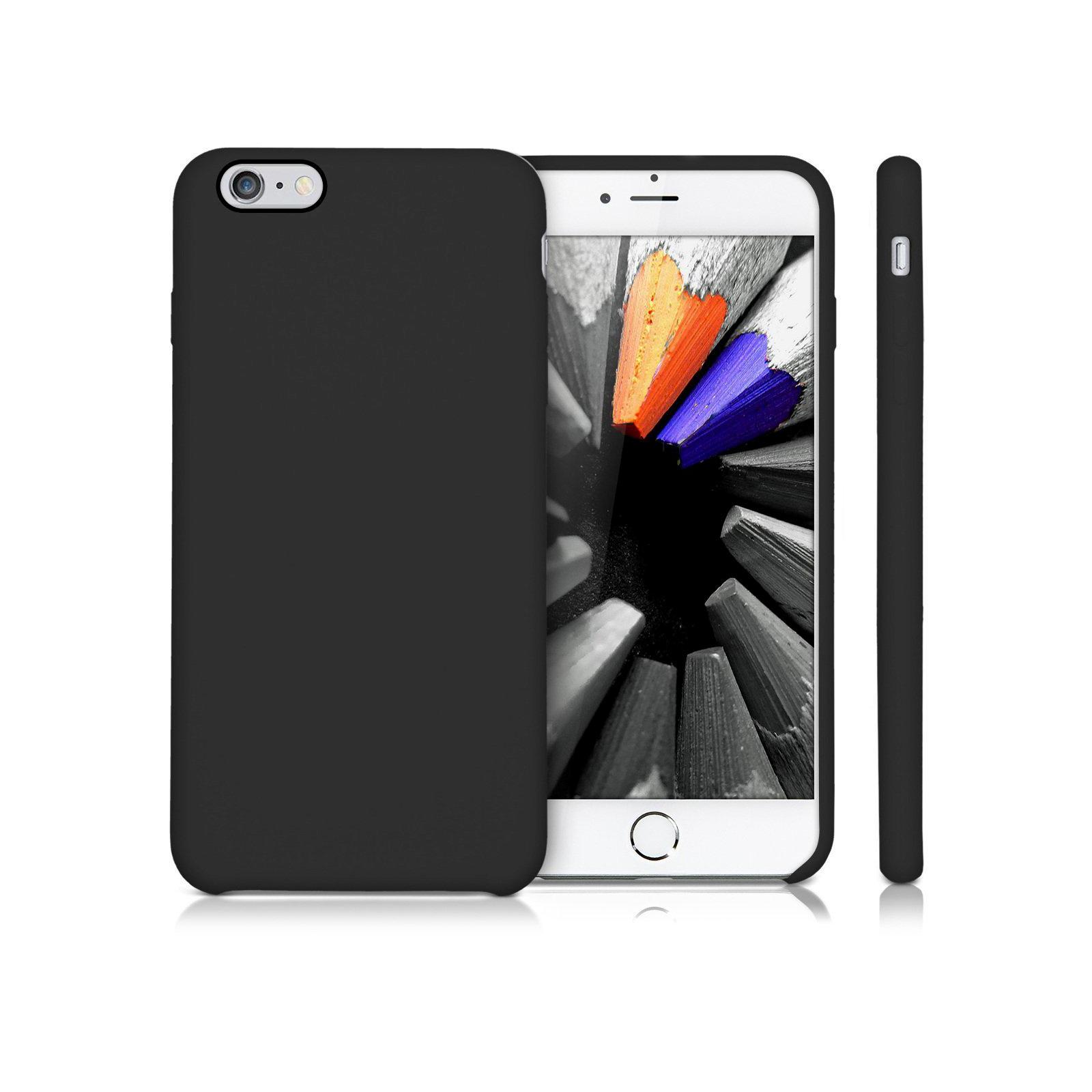 Чехол для моб. телефона Laudtec для iPhone 6/6s liquid case (black) (LT-I6LC) изображение 6
