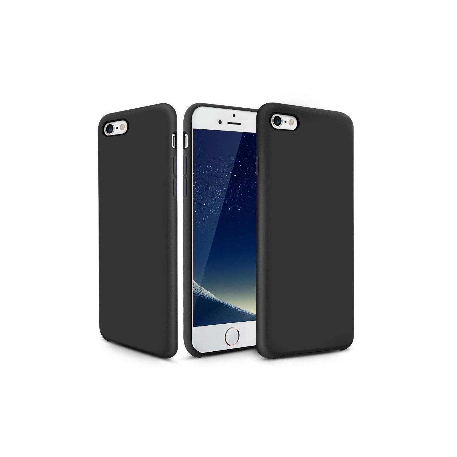 Чехол для моб. телефона Laudtec для iPhone 6/6s liquid case (black) (LT-I6LC) изображение 7