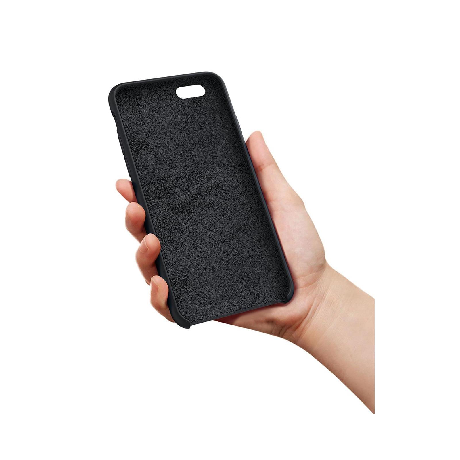 Чехол для моб. телефона Laudtec для iPhone 6/6s liquid case (black) (LT-I6LC) изображение 8