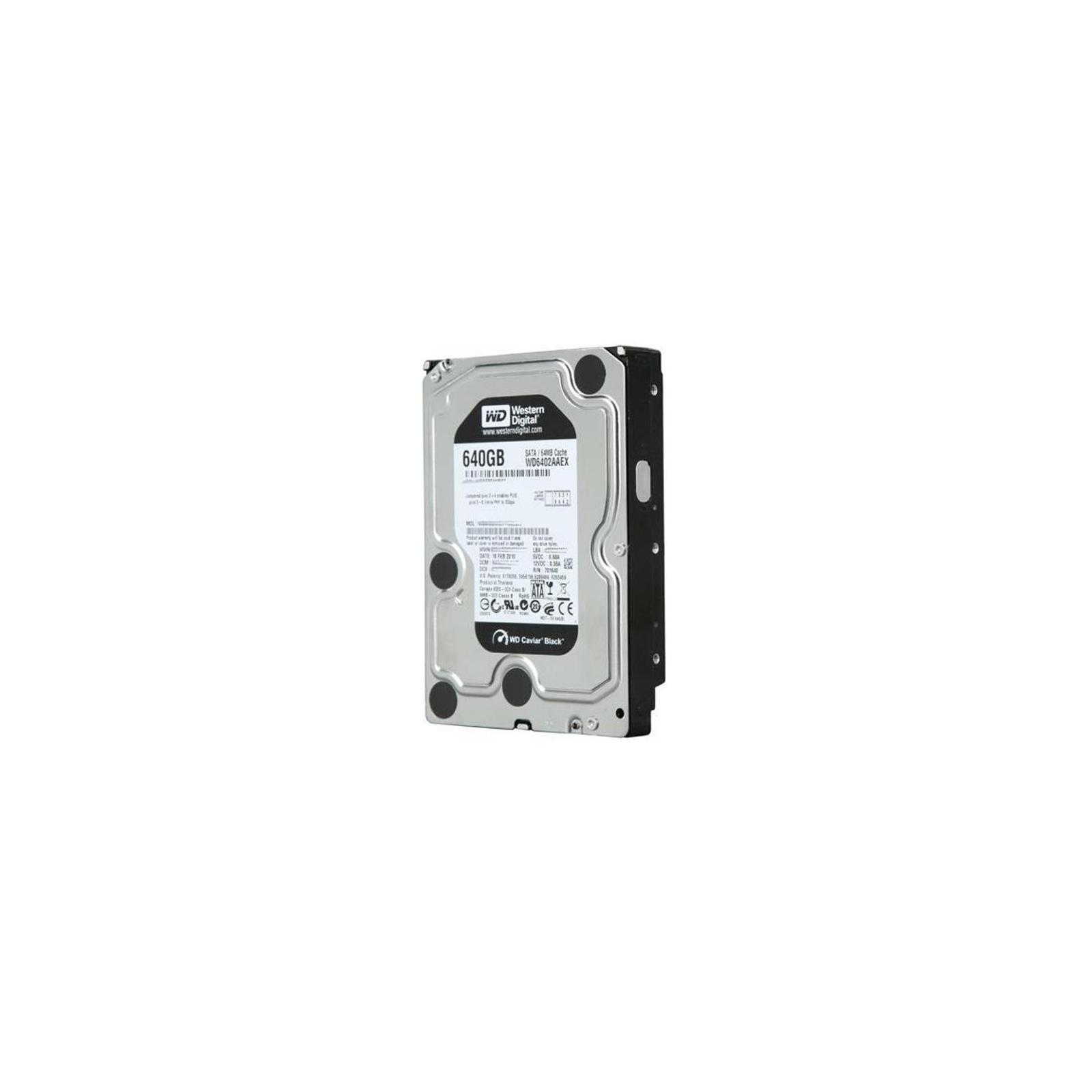"""Жесткий диск 3.5""""  640Gb WD (#WD6402AAEX-FR#) изображение 2"""