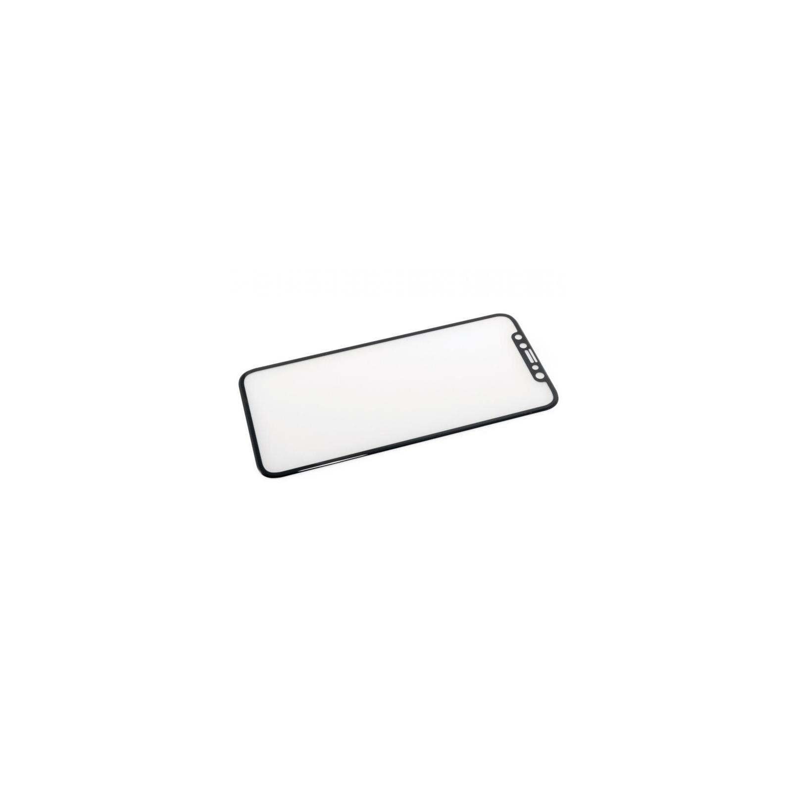 Стекло защитное iSG для Apple iPhone X 3D Full Cover Black (SPG4407) изображение 2