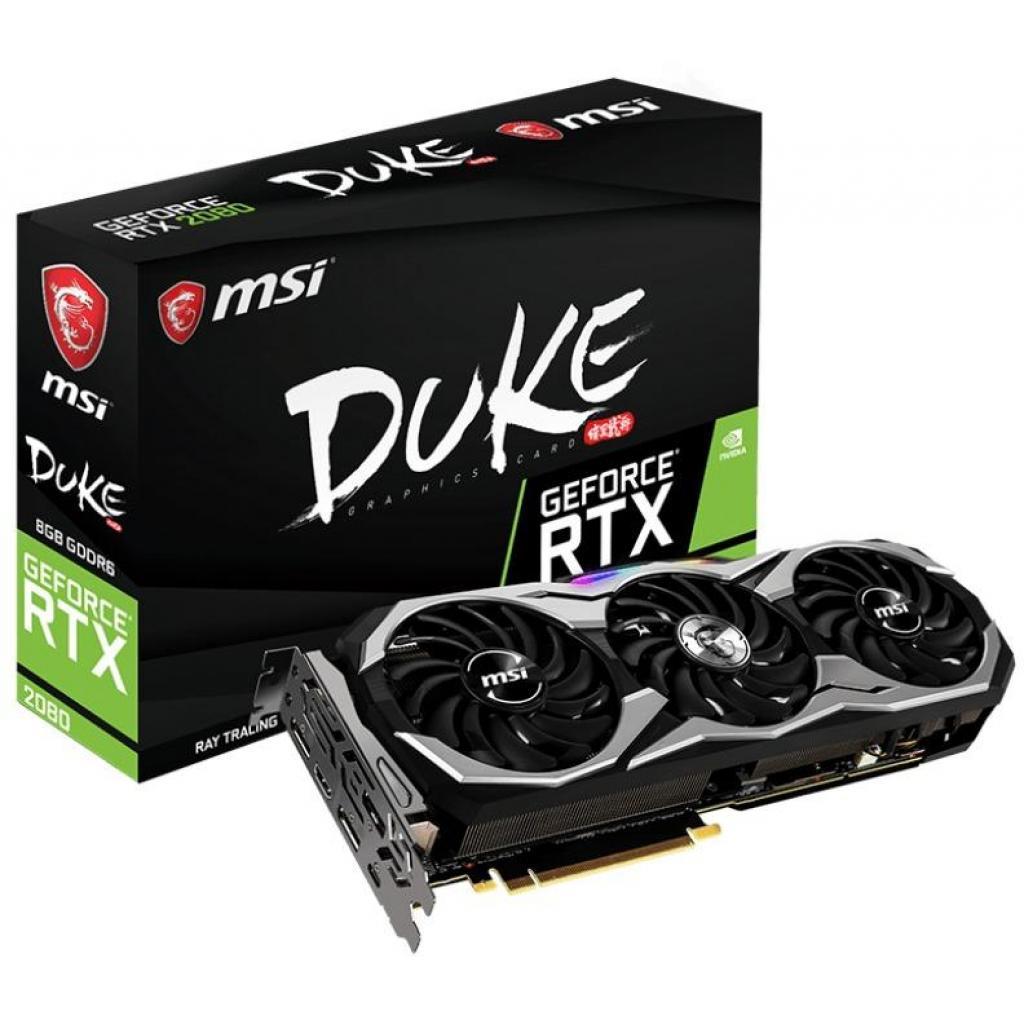 Видеокарта MSI GeForce RTX2080 8192Mb DUKE OC (RTX 2080 DUKE 8G OC)