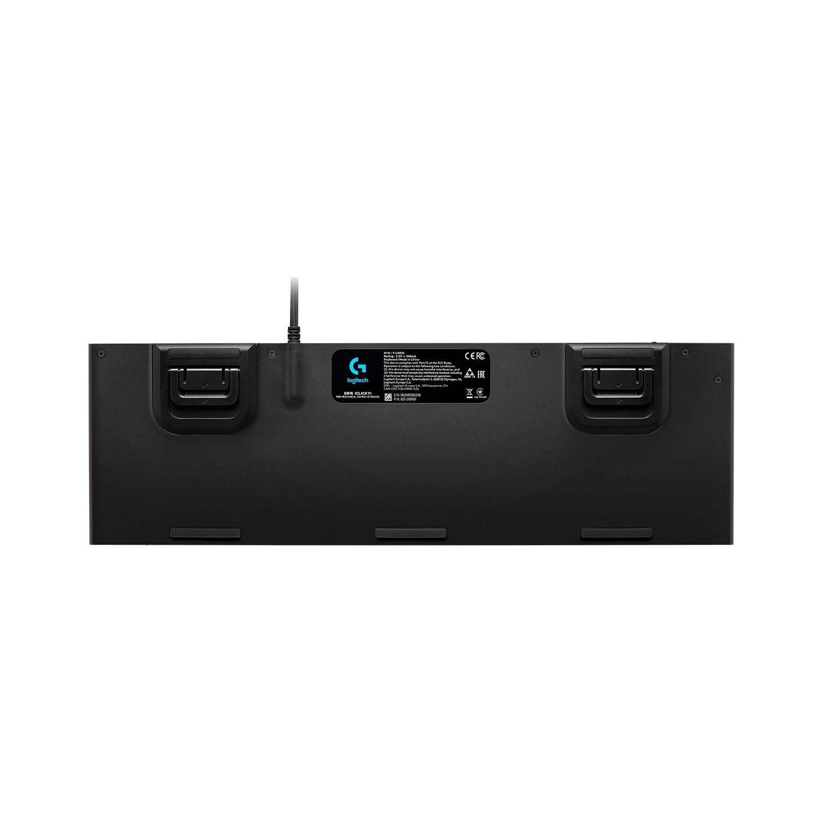 Клавиатура Logitech G815 Lightsync RGB Mechanical GL Linear (920-009007) изображение 4