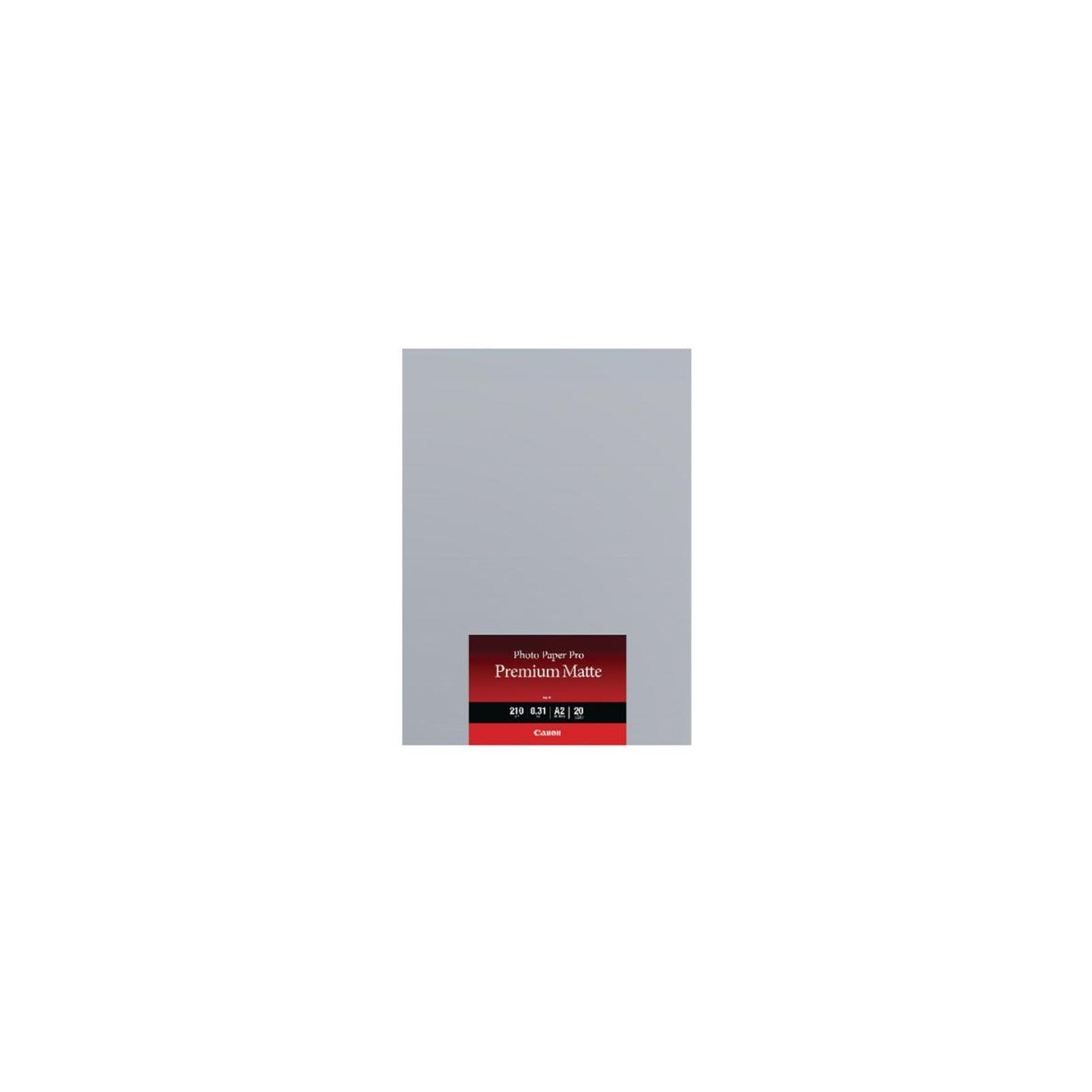 Папір Canon A2 Premium Matte Photo Paper, PM-101, 20арк (8657B017)