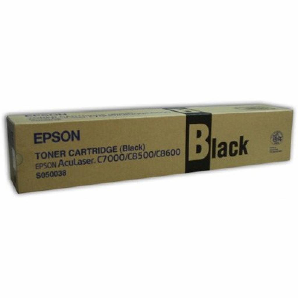 Картридж EPSON AcuLaser C8500/C8600 black (C13S050038)