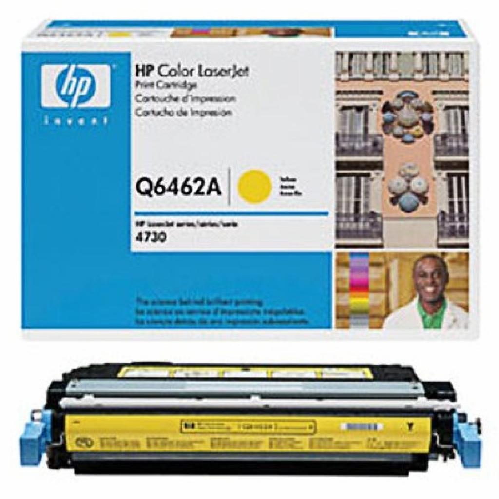 Картридж HP CLJ 4730 series, yellow (Q6462A)