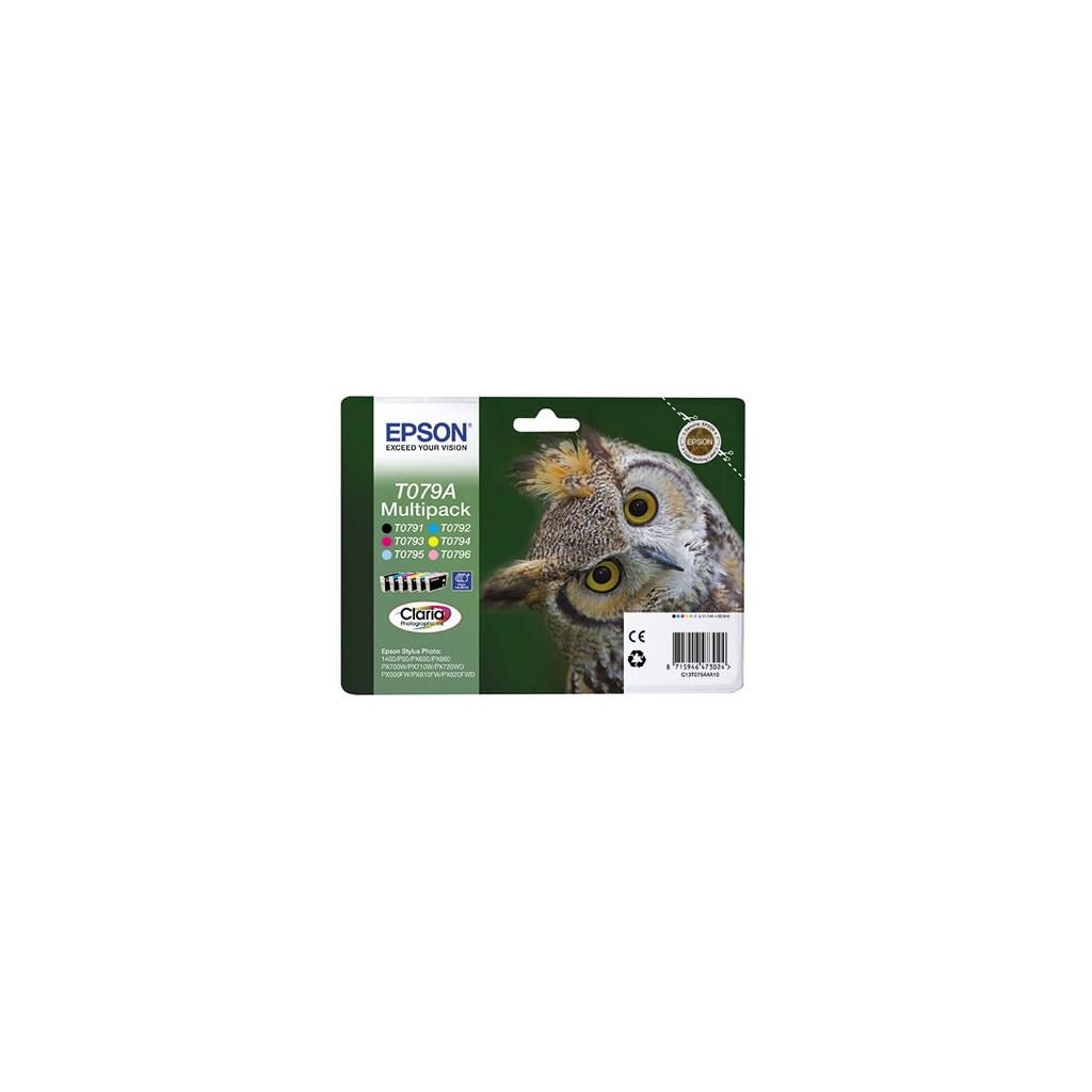 Картридж EPSON P50/ PX660/720WD/820FWD Bundle (C13T079A4A10)