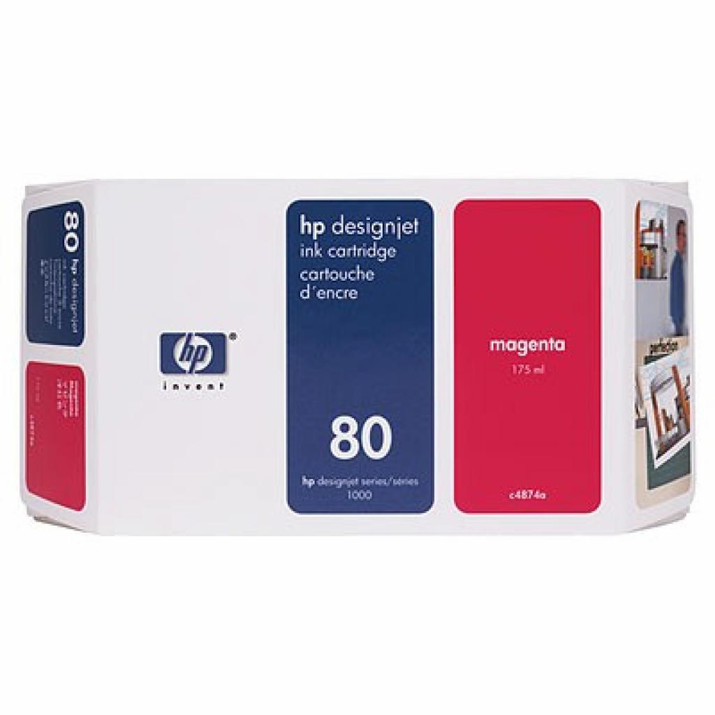 Картридж HP DJ No. 80 DesignJ1050/ 1055 magenta (C4874A)