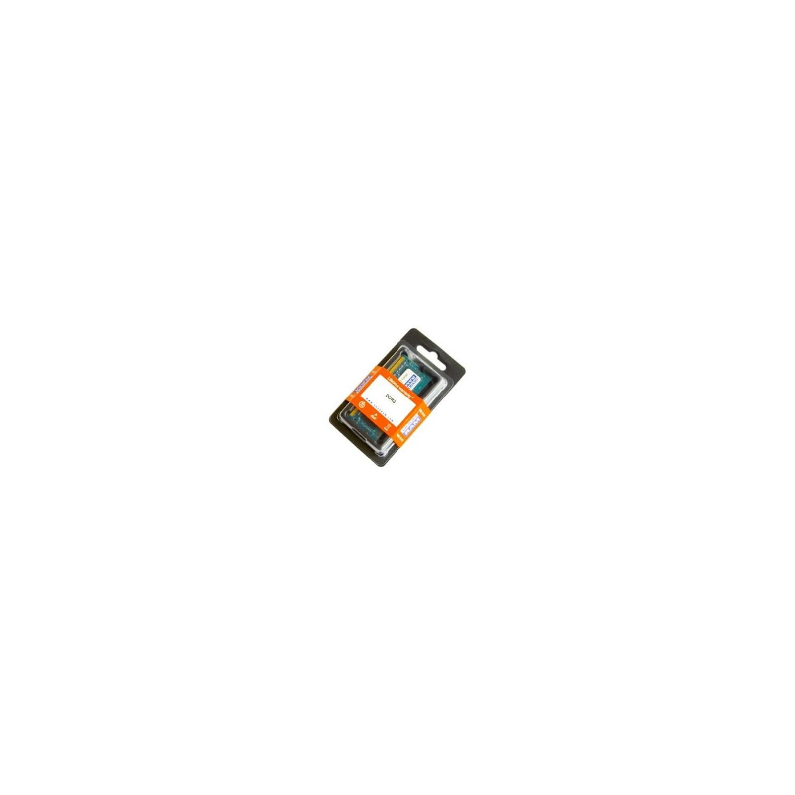 Модуль памяти для ноутбука SoDIMM DDR3 1GB 1333 MHz GOODRAM (GR1333S364L9/1G)