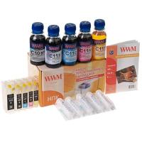Комплект перезаправляемых картриджей WWM CANON iP4840/MG5140/5240 AO-chip (RC.CLI426ARC)