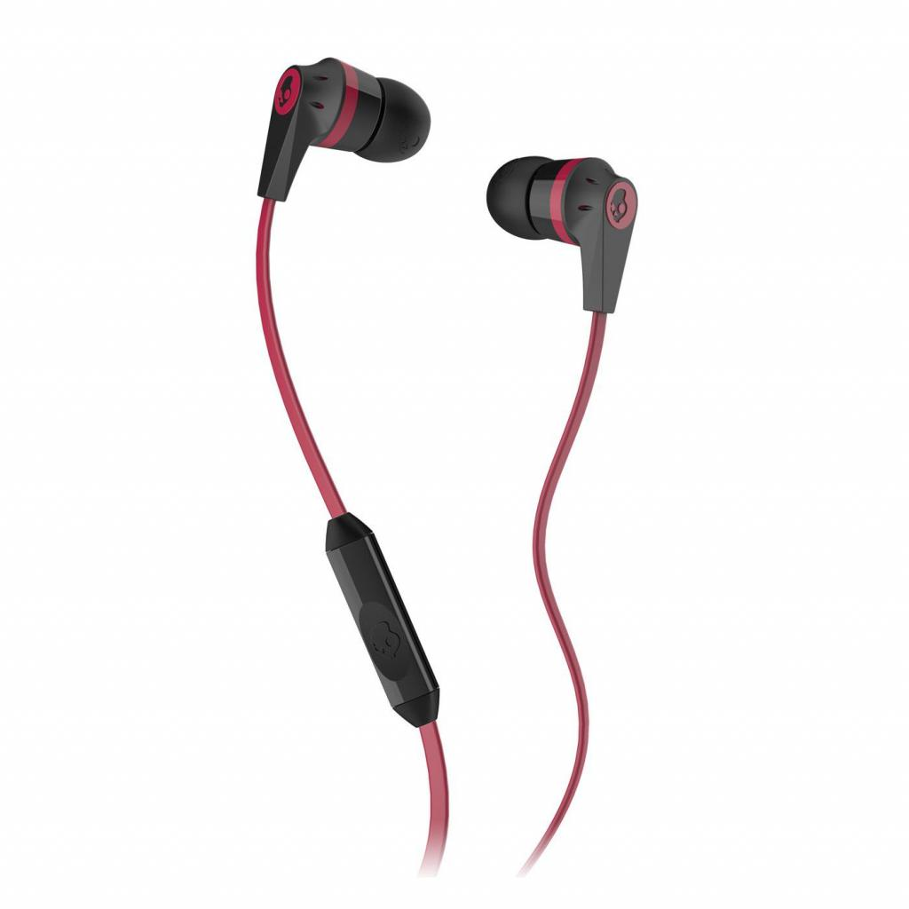 Наушники Skullcandy Ink'd 2.0 Black/Red w/mic (S2IKDY-010)