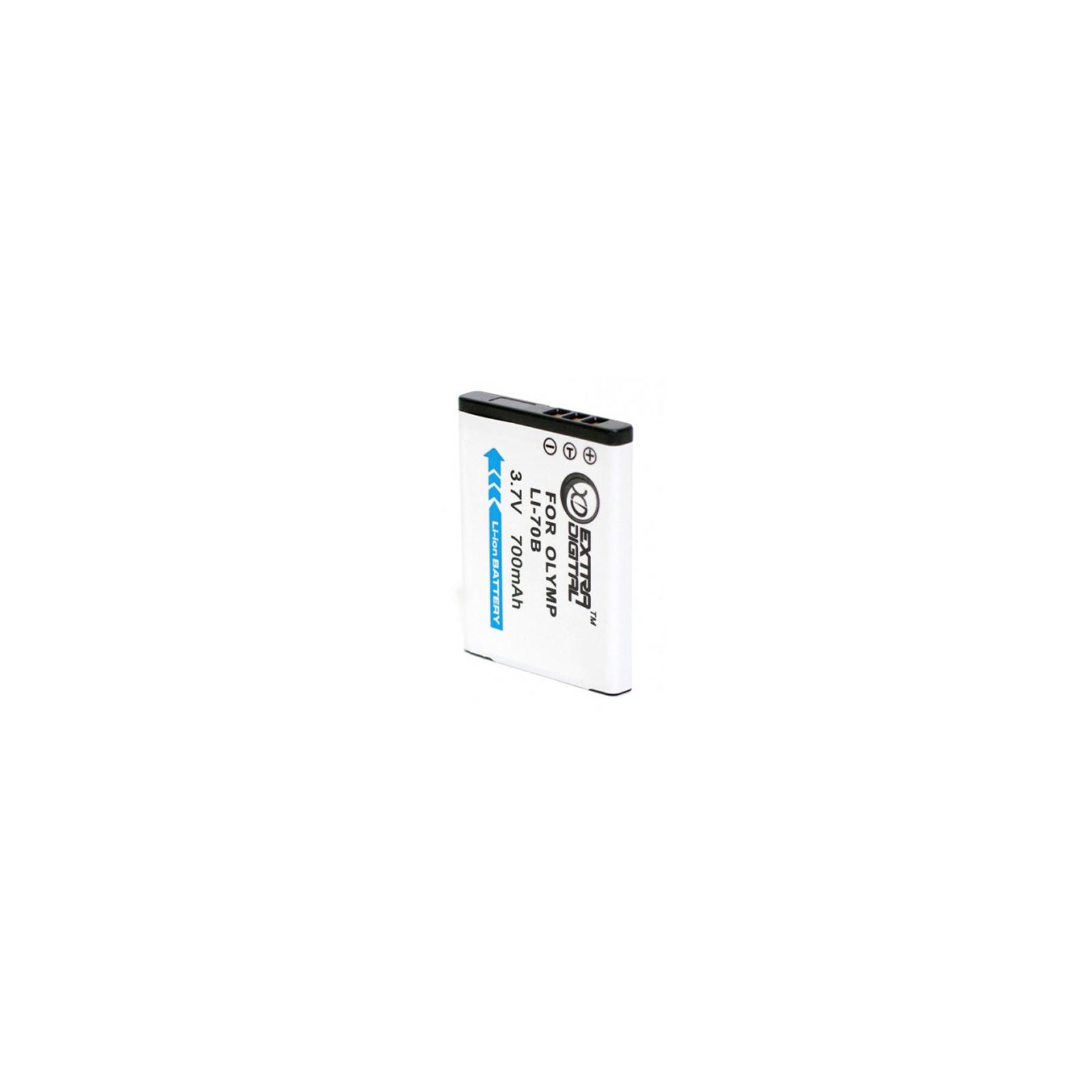 Аккумулятор к фото/видео EXTRADIGITAL Olympus LI-70B (BDO2541) изображение 2