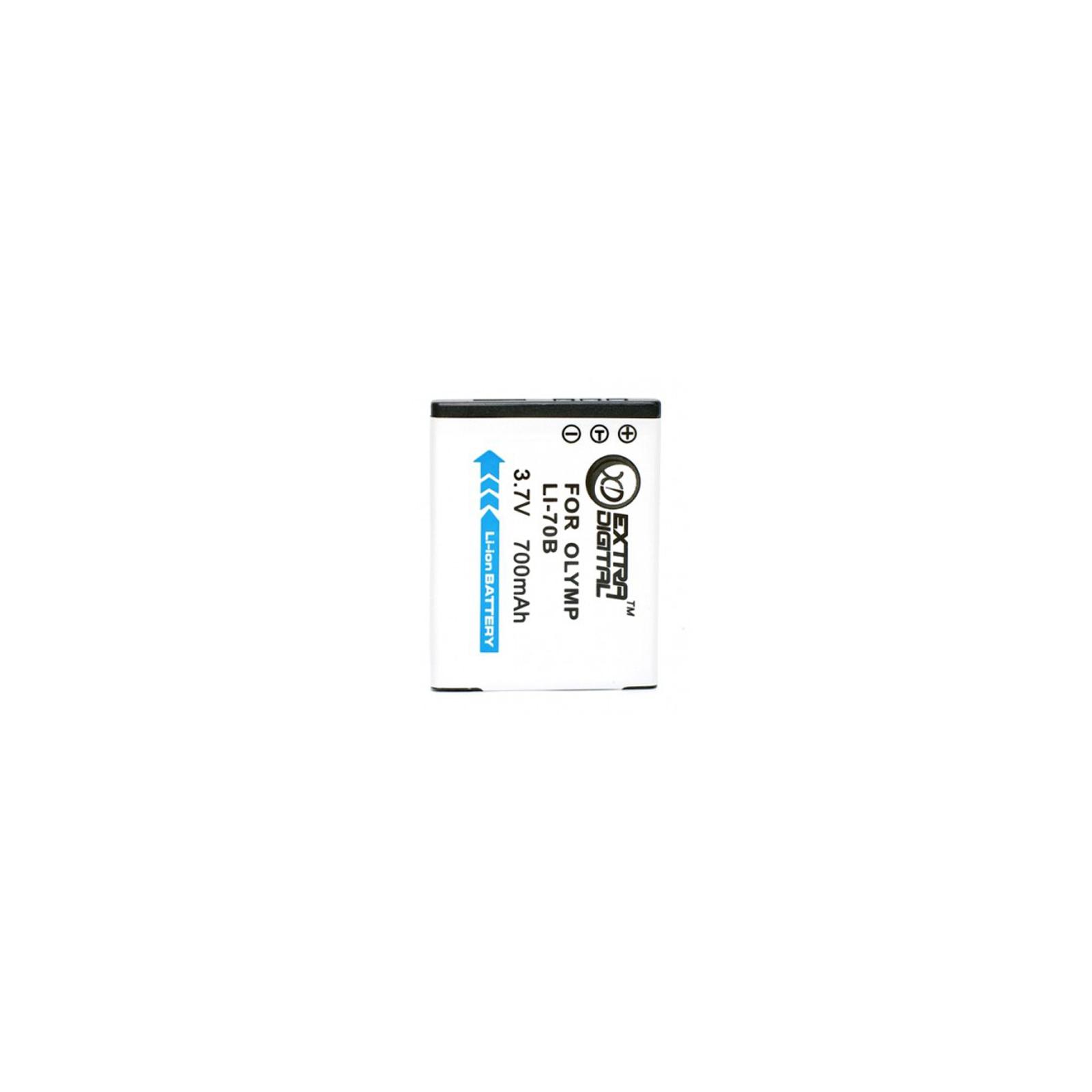 Аккумулятор к фото/видео EXTRADIGITAL Olympus LI-70B (BDO2541)
