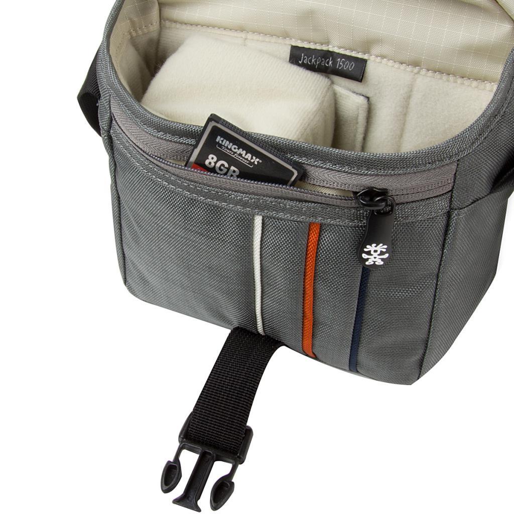 Фото-сумка Crumpler Jackpack 1500 (dk. mouse grey/off white) (JP1500-004) изображение 3