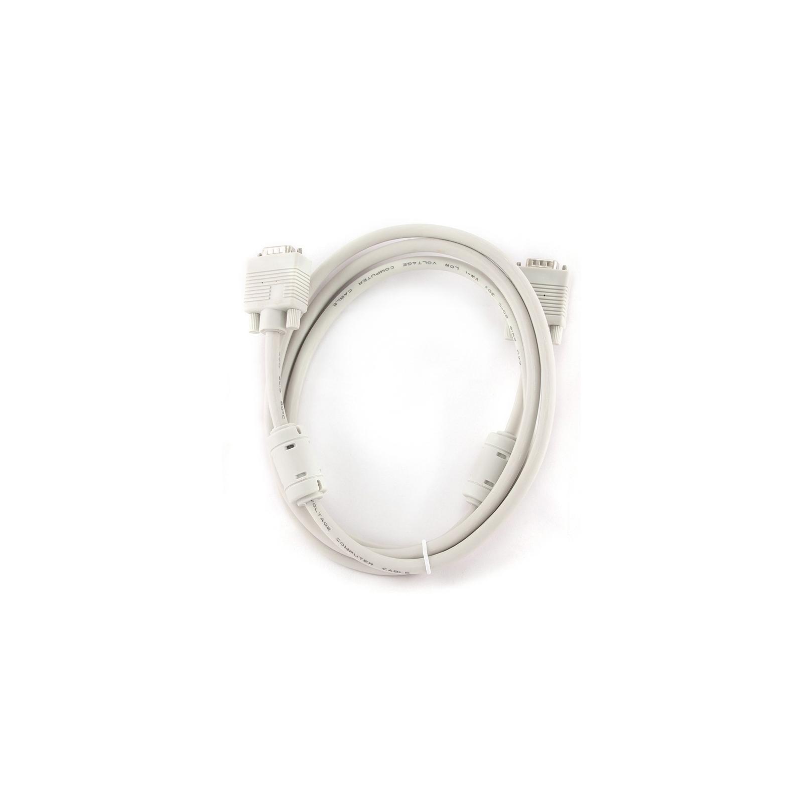 Кабель мультимедийный VGA 1.8m Cablexpert (CC-PPVGA-6)