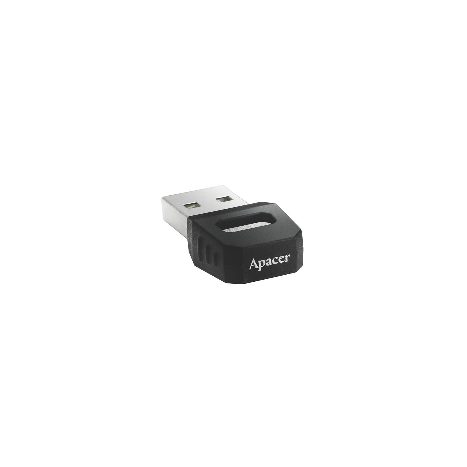USB флеш накопитель 8GB AH134 Black RP USB2.0 Apacer (AP8GAH134B-1) изображение 2