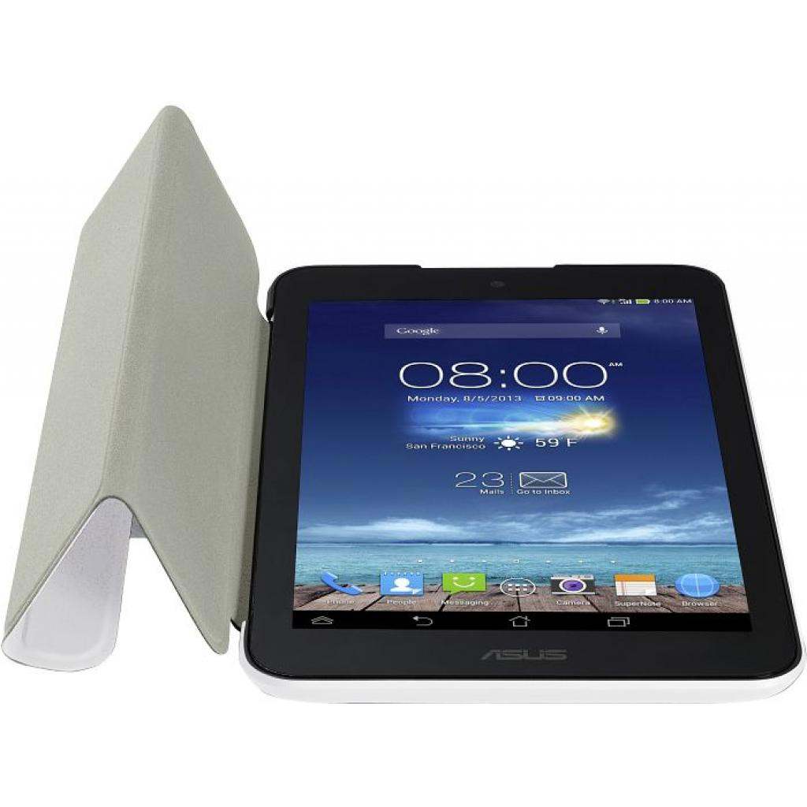 Чехол для планшета ASUS 8 ME180A TriCover WHITE (90XB015P-BSL0D0) изображение 4