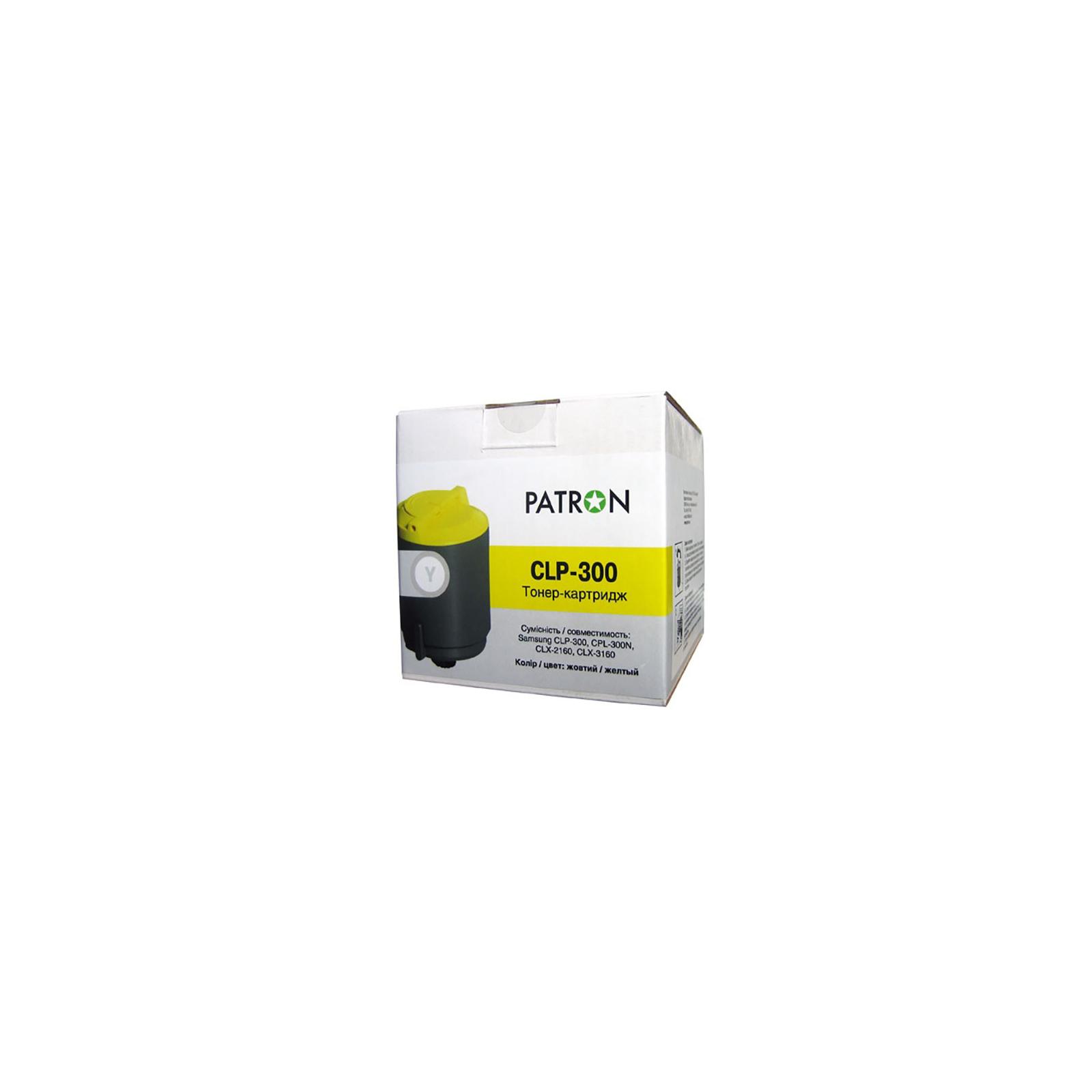 Картридж PATRON SAMSUNG CLP-300 (PN-CLPY300) YELLOW (CT-SAM-CLP-300-Y-PN)