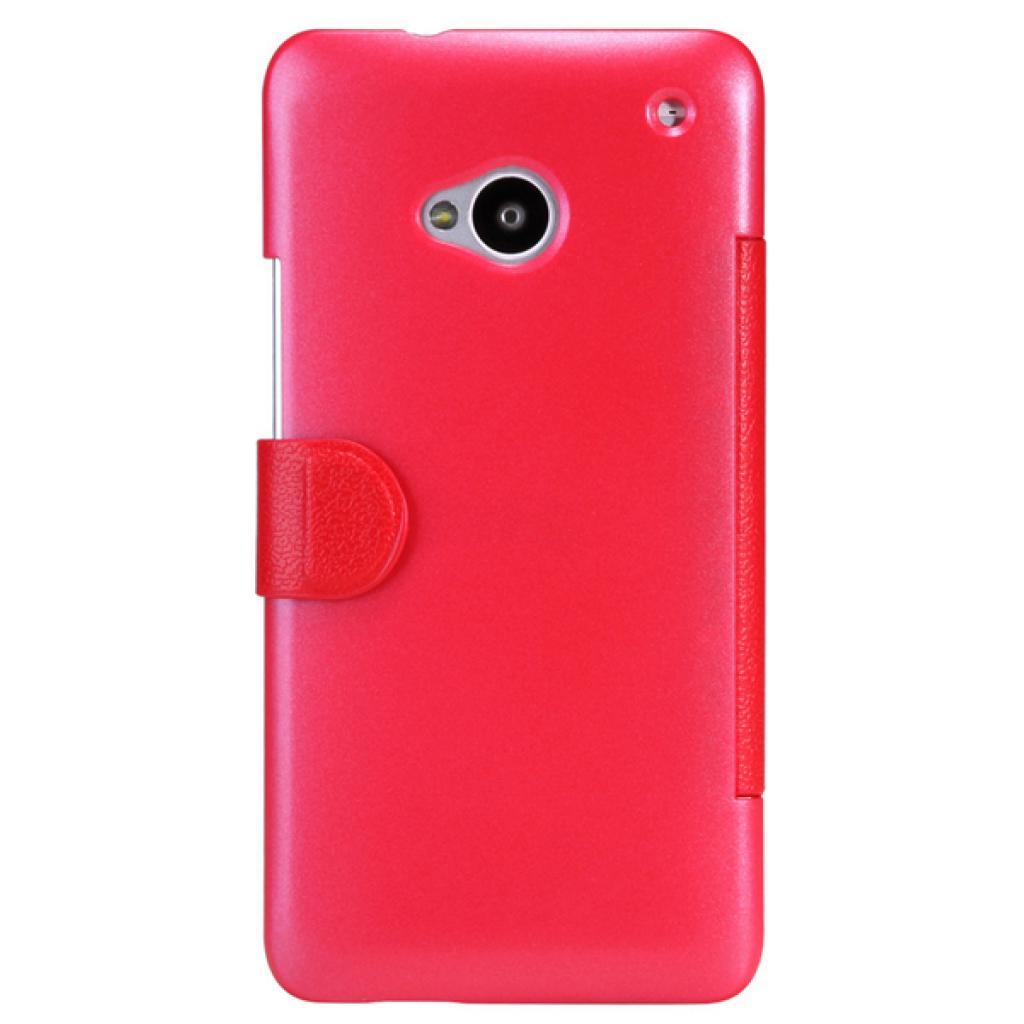 Чехол для моб. телефона NILLKIN для HTC ONE Dual 802w- Fresh/ Leather/Red (6076838) изображение 2