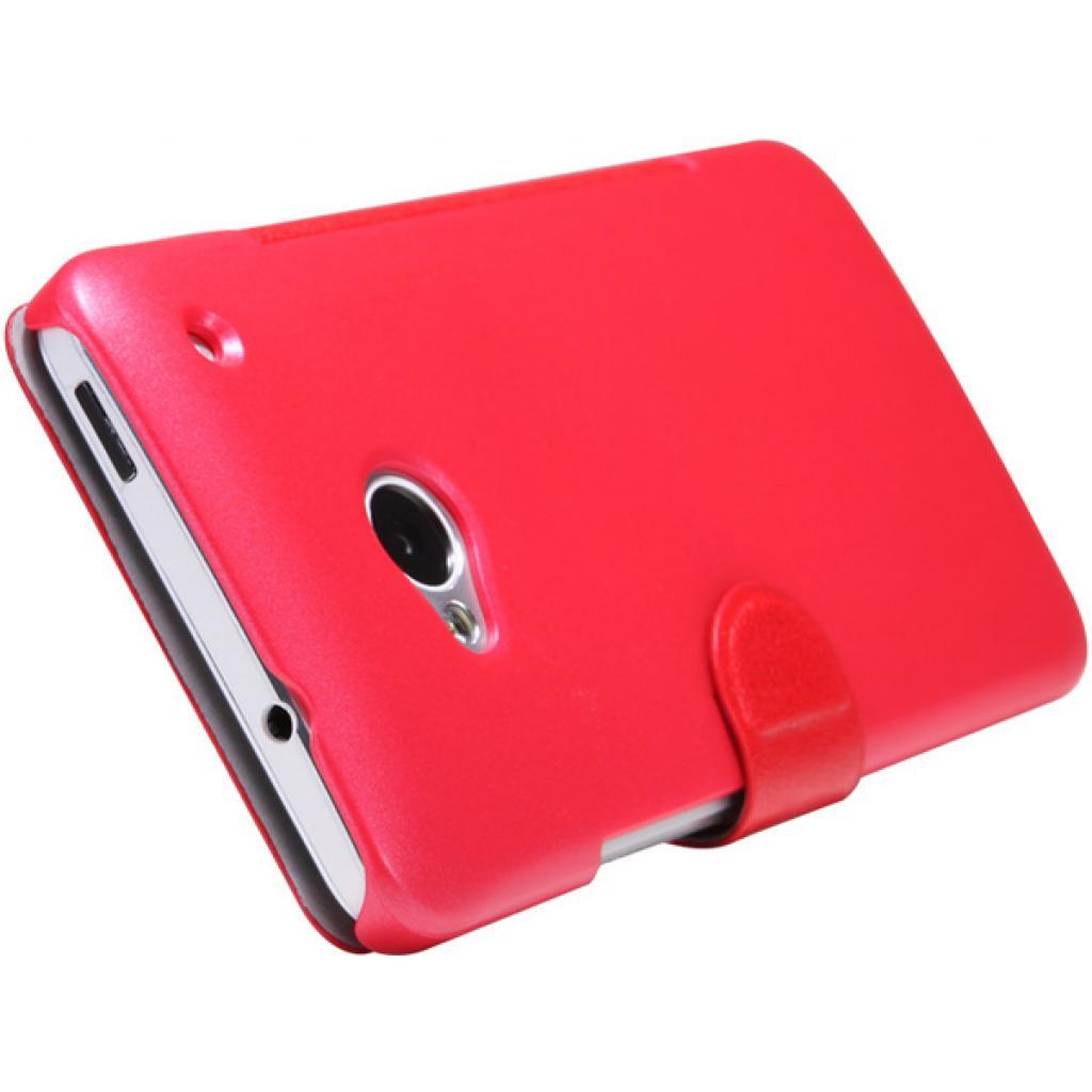 Чехол для моб. телефона NILLKIN для HTC ONE Dual 802w- Fresh/ Leather/Red (6076838) изображение 4