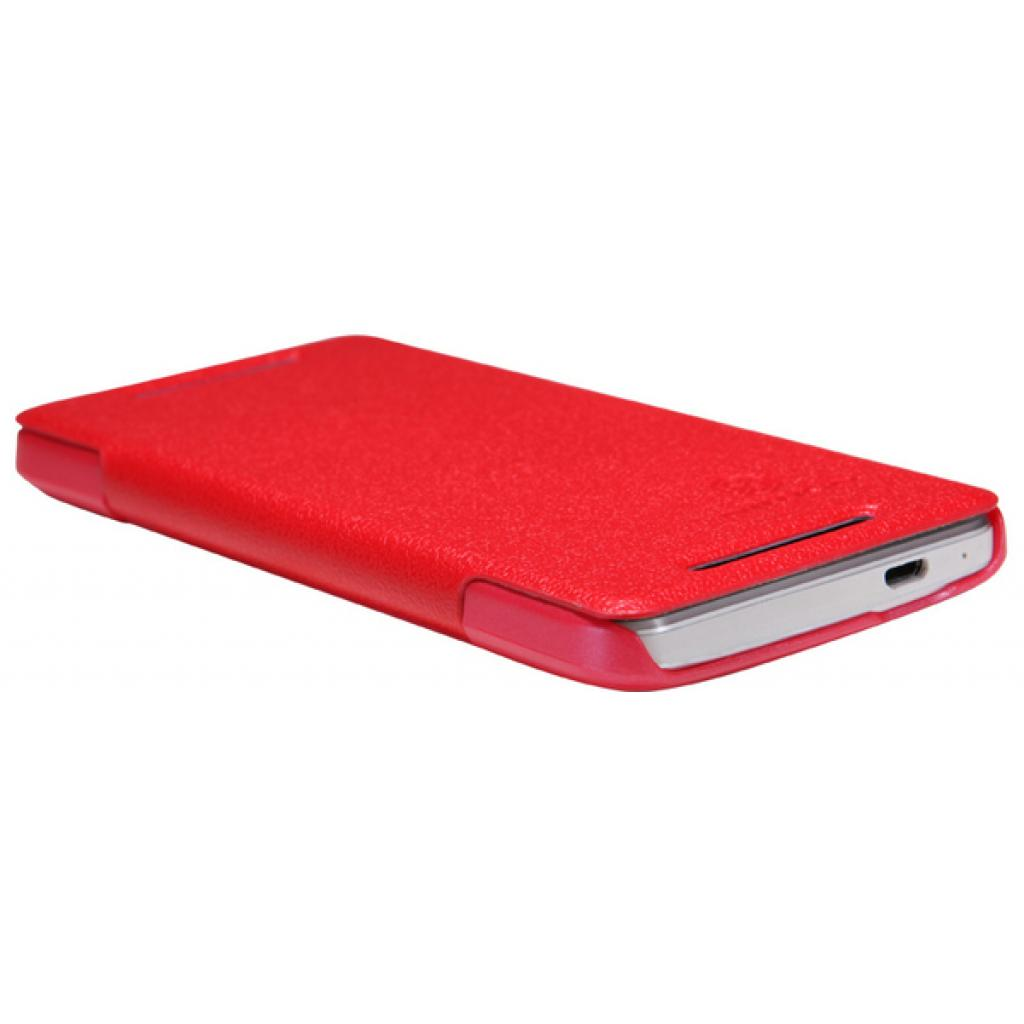 Чехол для моб. телефона NILLKIN для HTC ONE Dual 802w- Fresh/ Leather/Red (6076838) изображение 5