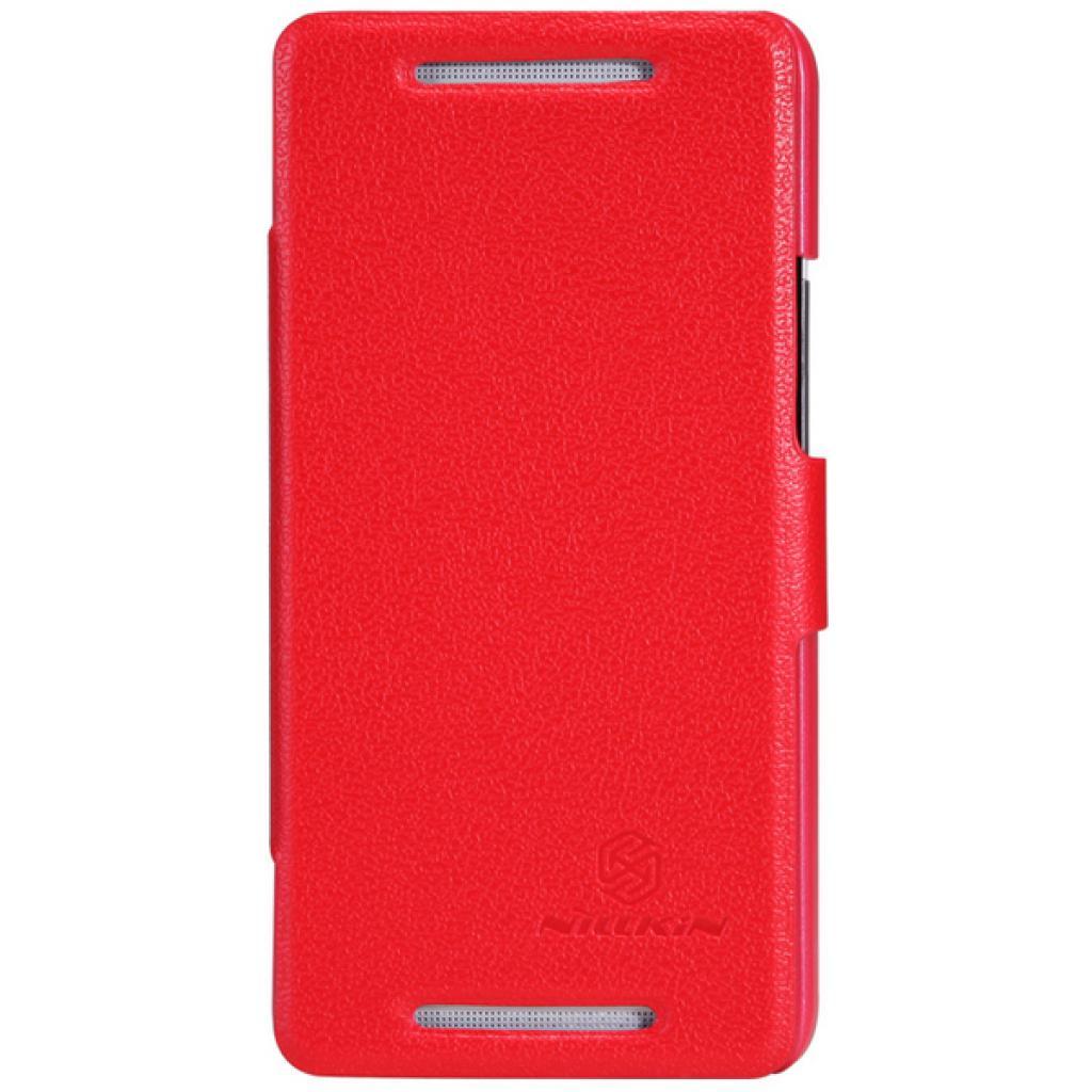 Чехол для моб. телефона NILLKIN для HTC ONE Dual 802w- Fresh/ Leather/Red (6076838)