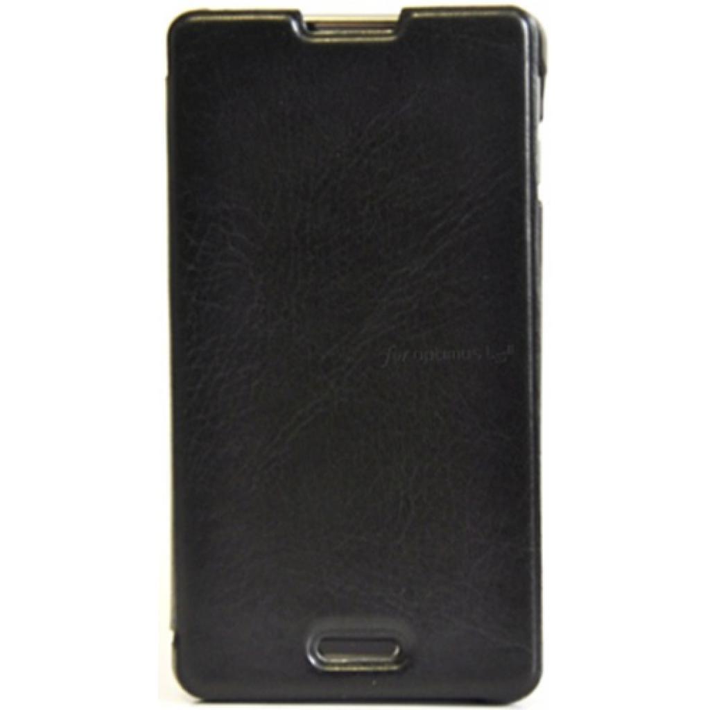 Чехол для моб. телефона VOIA для LG E435 Optimus L3II Dual /Flip/Black (6068215)