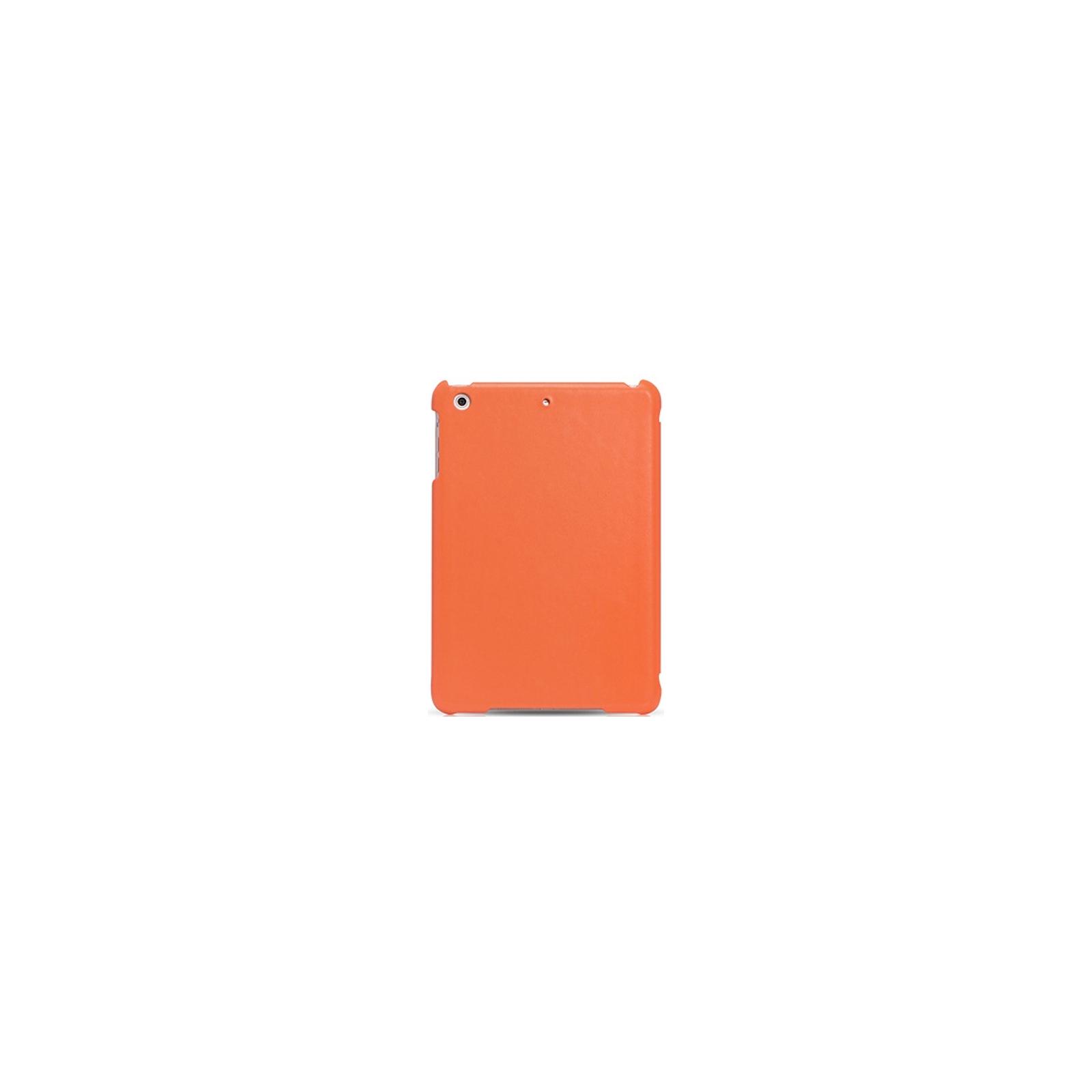 Чехол для планшета i-Carer iPad Mini Retina Ultra thin genuine leather series orange (RID794or) изображение 2