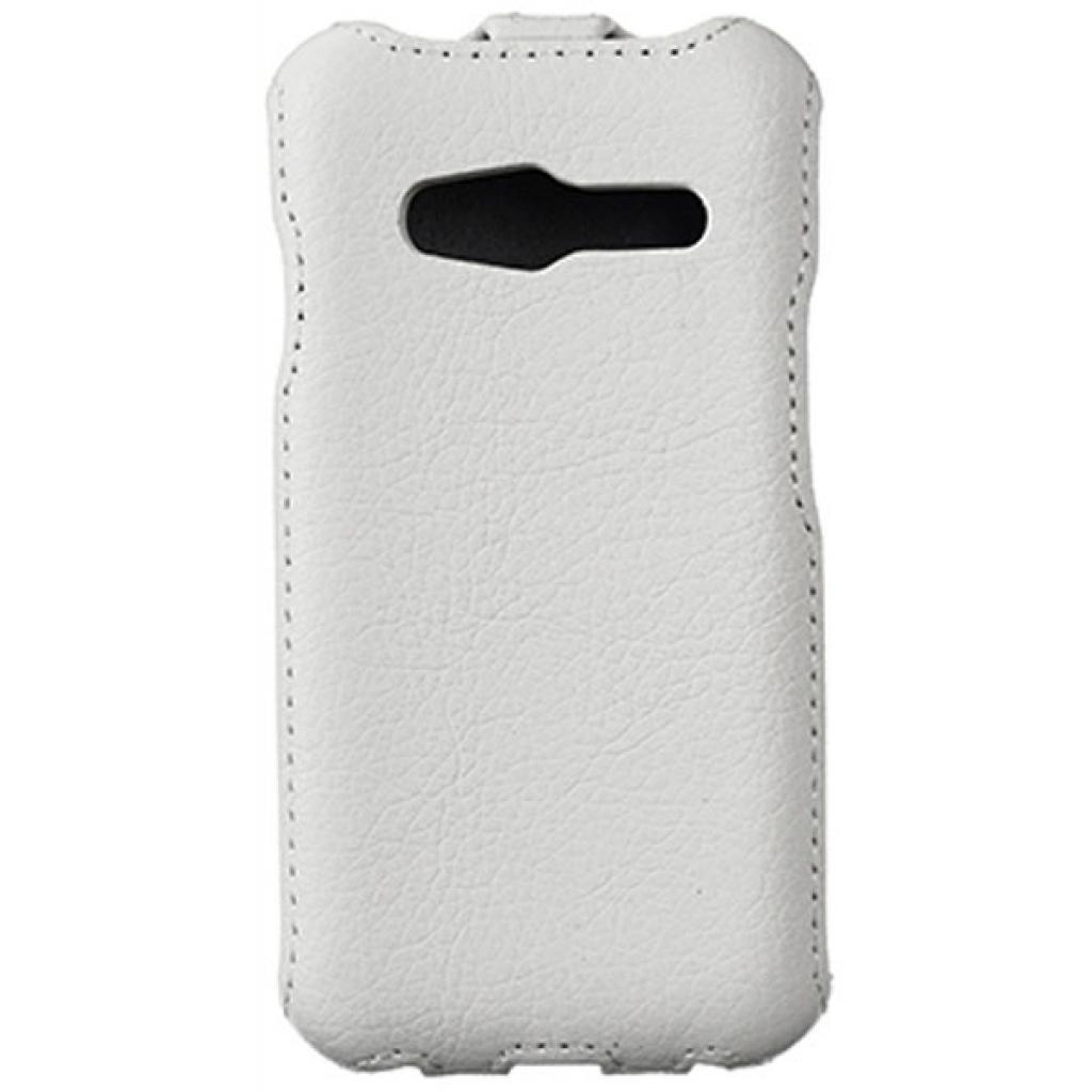 Чехол для моб. телефона Vellini для Samsung Galaxy Ace 4 G313 White /Lux-flip/ (218631) (218631) изображение 2