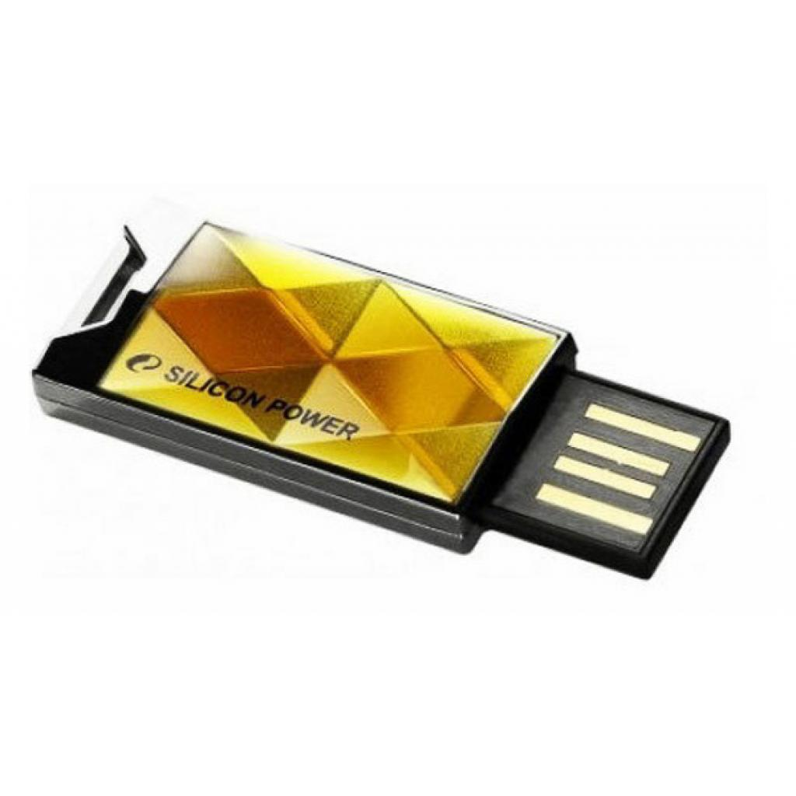 USB флеш накопитель Silicon Power 8Gb 850 amber (SP008GBUF2850V1A) изображение 2