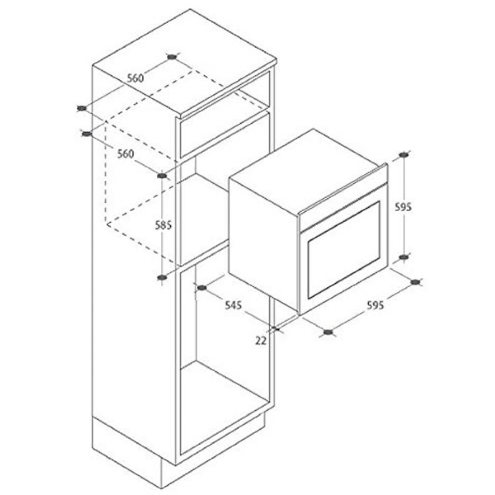 Духовой шкаф CANDY FPE 602A/6W (FPE602A/6W) изображение 2