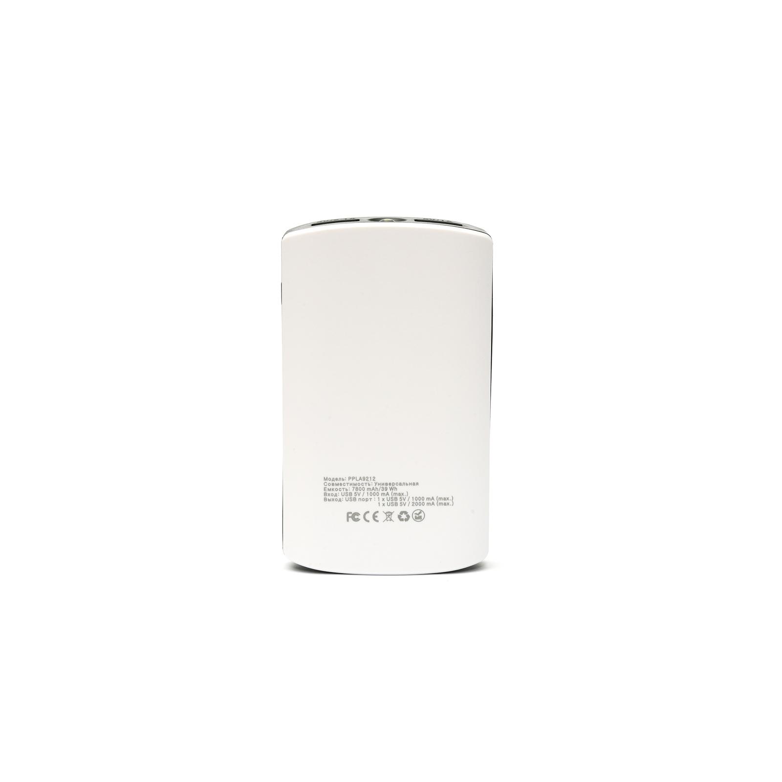 Батарея универсальная PowerPlant PB-LA9212 7800mAh 1*USB/1A, 1*USB/2A (PPLA9212) изображение 4