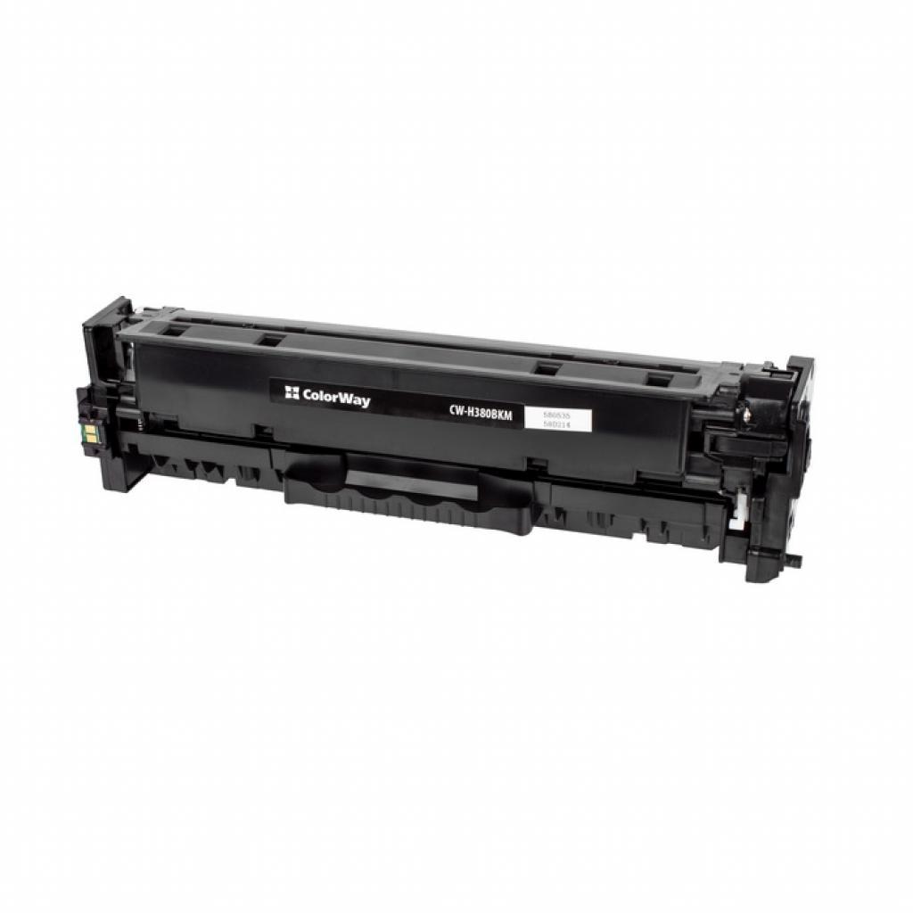 Картридж ColorWay для HP CLJ Pro M476 Black /CF380A (CW-H380BKM)