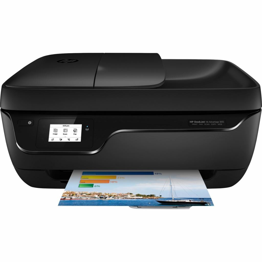 Многофункциональное устройство HP DeskJet Ink Advantage 3835 c Wi-Fi (F5R96C) изображение 2